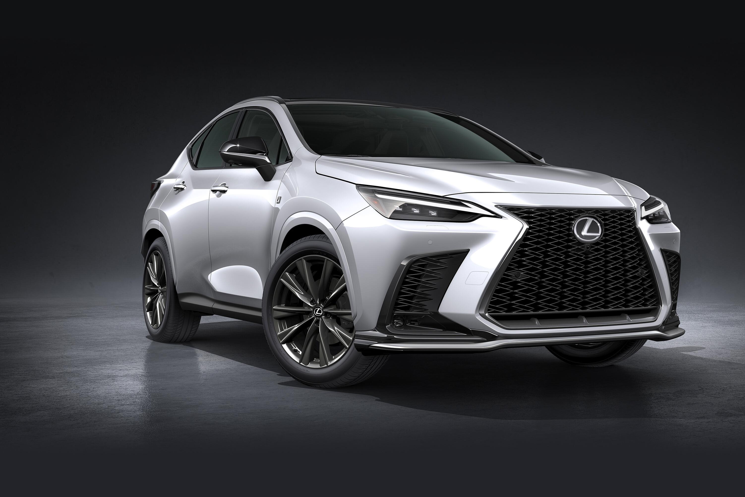 2022 Lexus NX SUV reveal