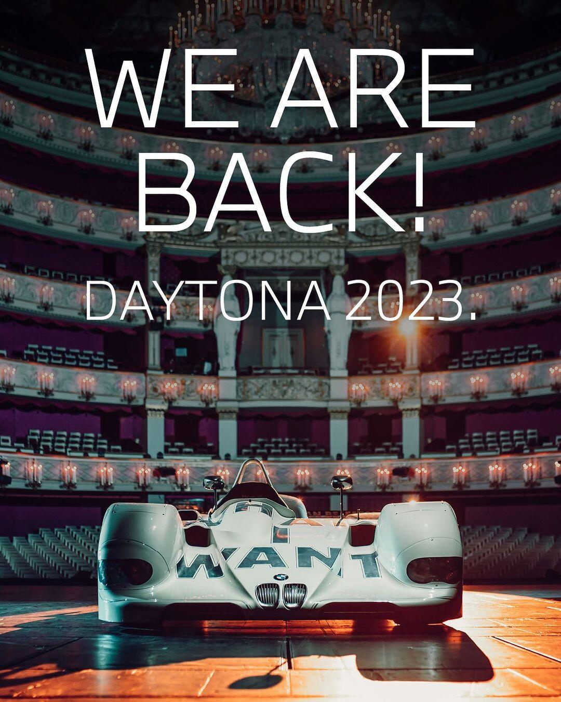BMW Le Mans Return V 12 LMR