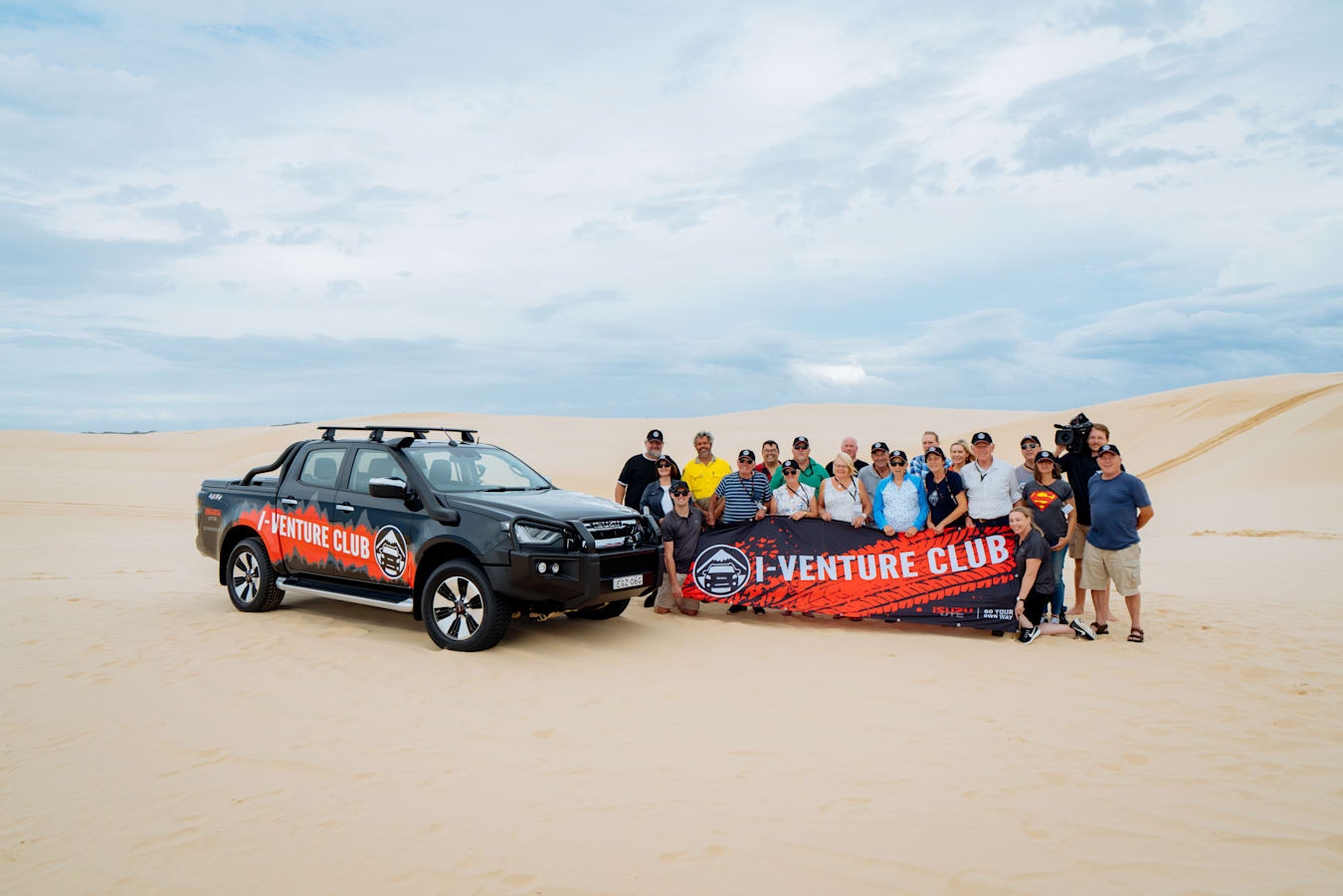 4 X 4 Australia Explore I Venture Club Stockton Beach 1
