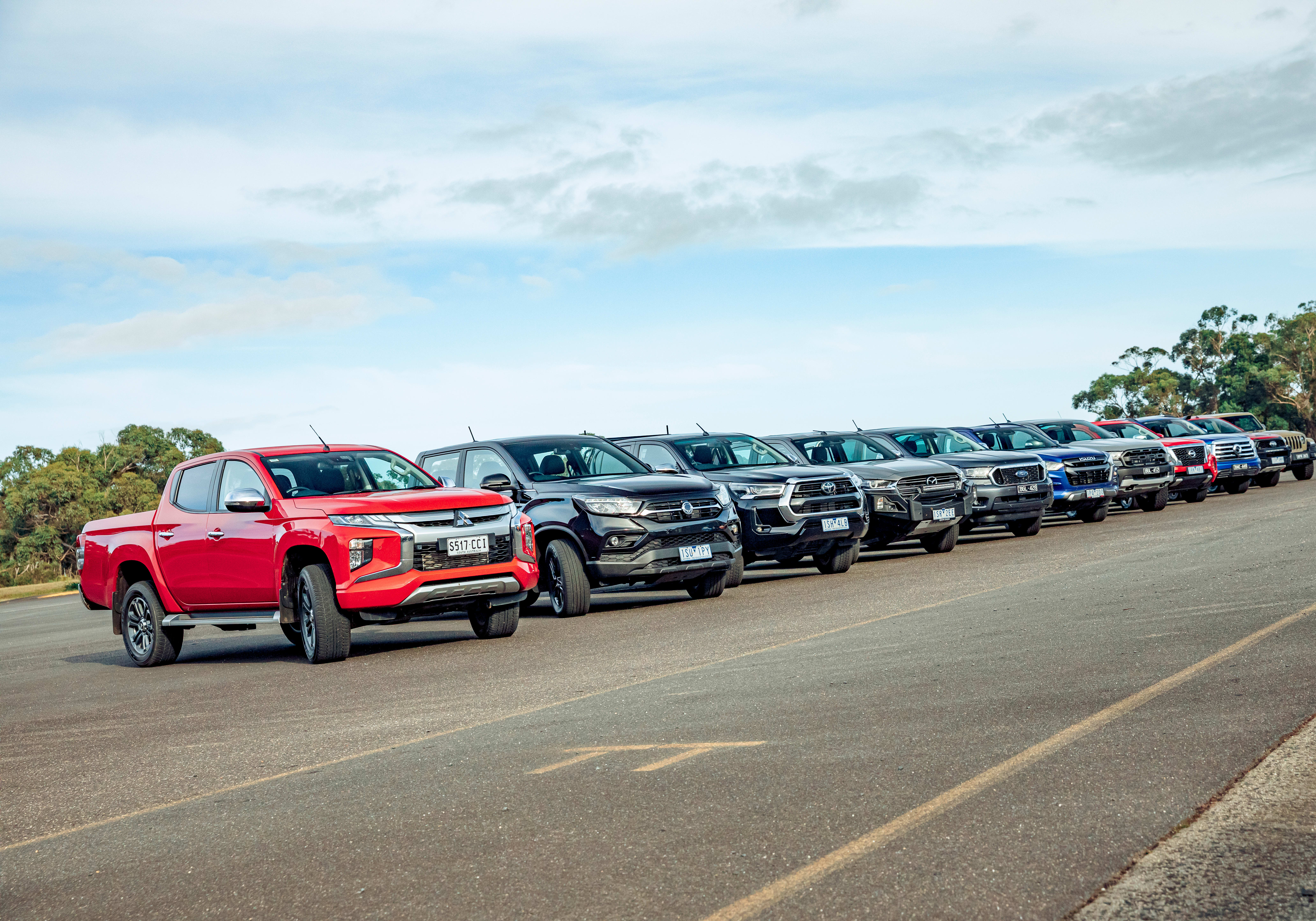 2021 Dual-cab ute megatest results and summary