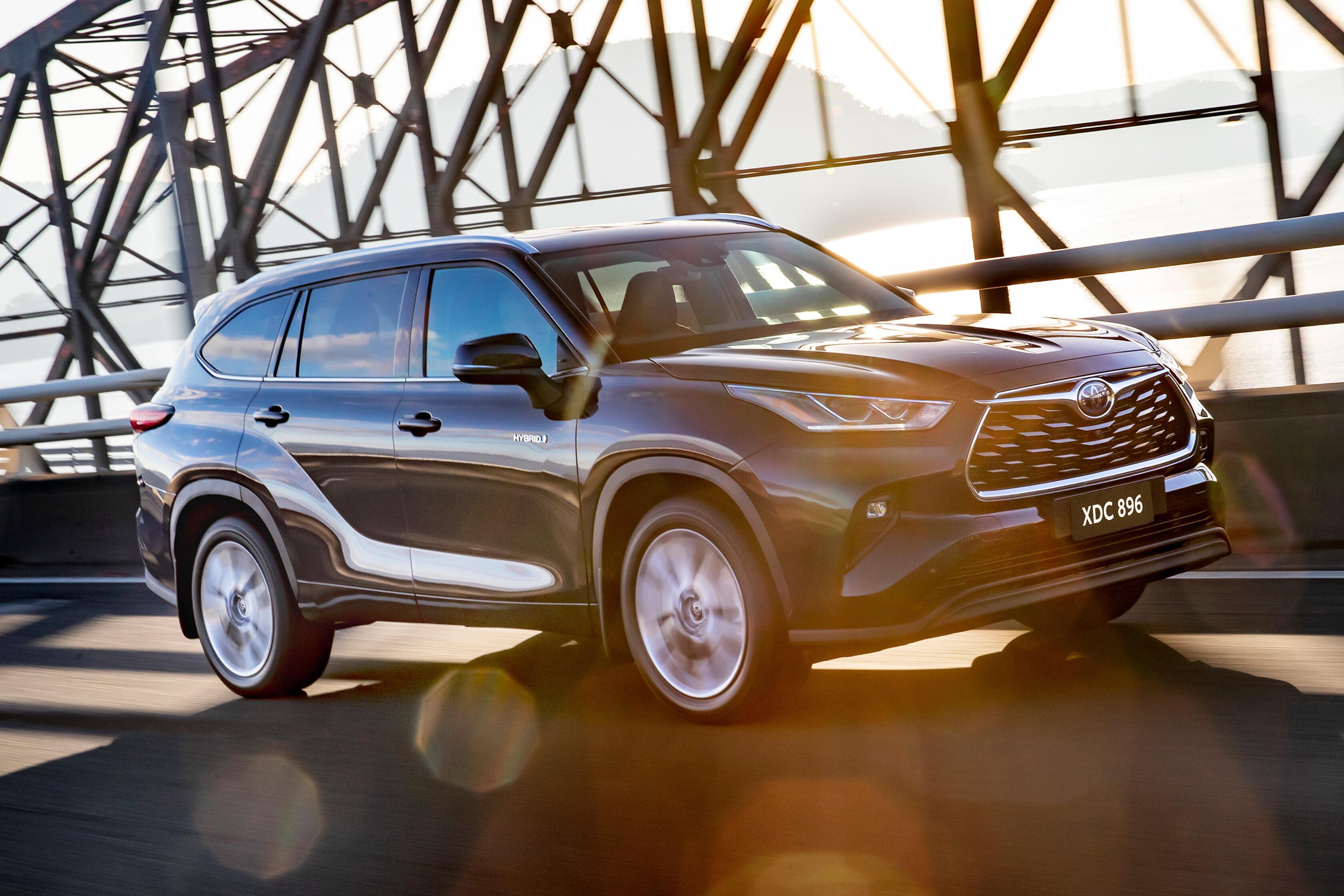 2021 Toyota Kluger Hybrid  Australian review