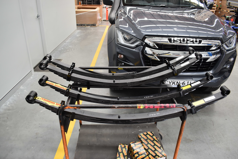 2021 Isuzu D-MAX gets 40mm Tough Dog Suspension lift
