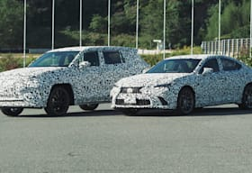 Lexus BEV and HEV prototype