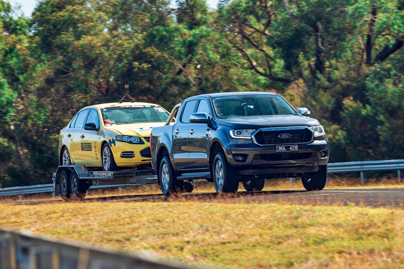 4 X 4 Australia Comparisons 2021 May 21 Ford Ranger XLT Towing Performance