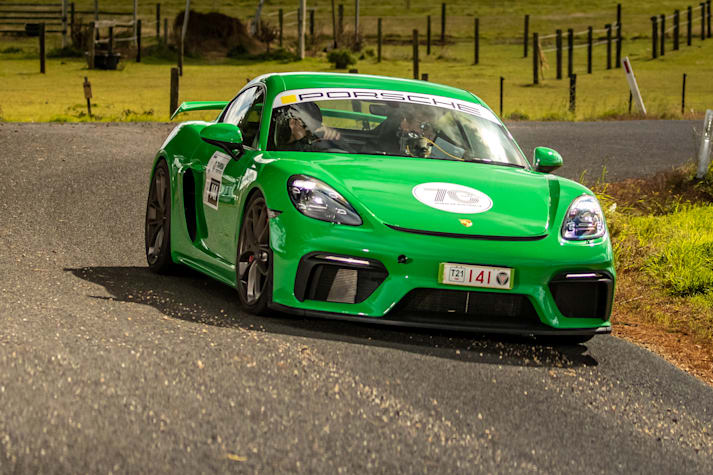 2021 Porsche Cayman GT4 review