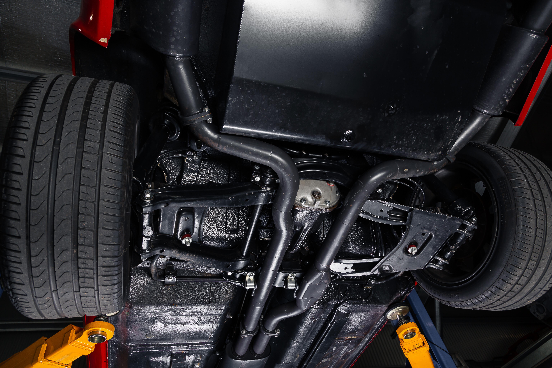 Street Machine Features Datsun 260 Z Underside 2