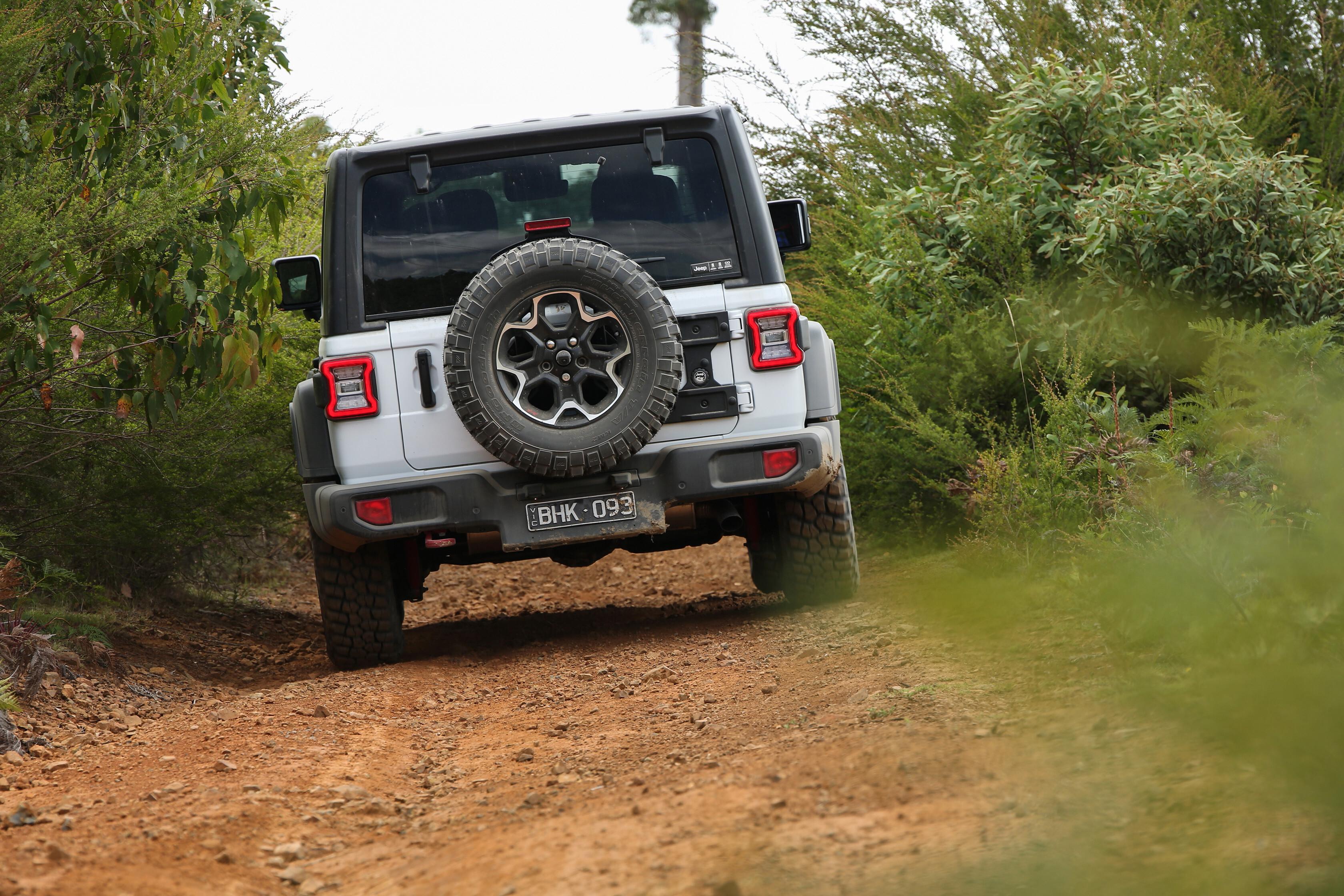 Wheels Reviews 2021 Jeep Wrangler Rubicon Recon Rear