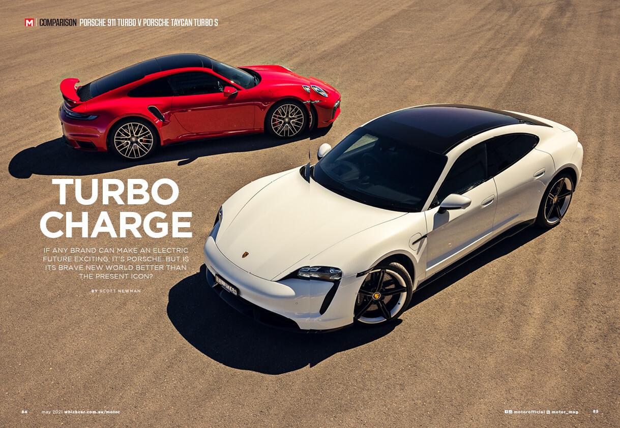 Motor News 0521 Taycan V Turbo