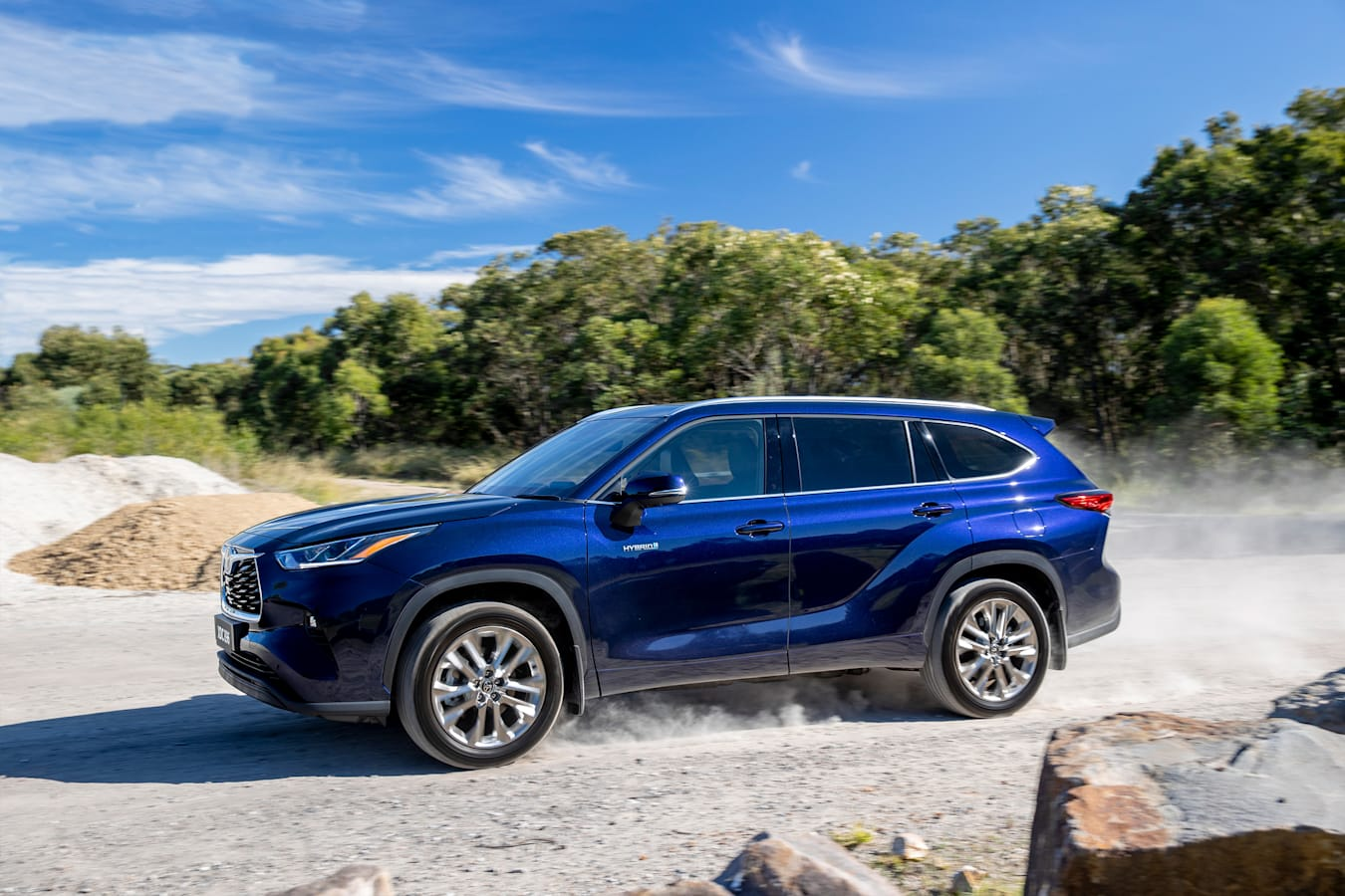 Wheels Reviews 2021 Toyota Kluger Hybrid Australian Off Road Drive Review