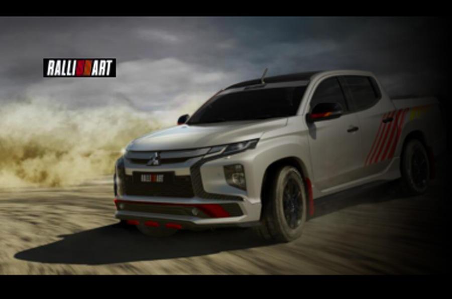 2022 Mitsubishi Triton Ralliart
