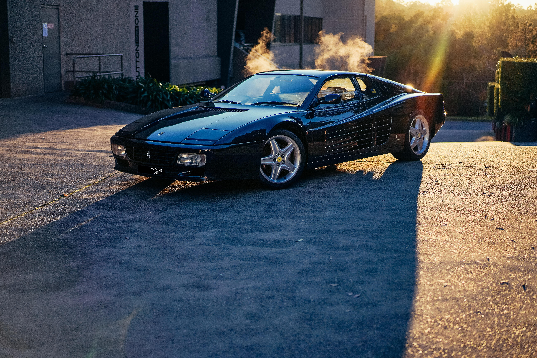 Motor Features 1992 Ferrari 512 TR Australian Delivered 000117 EXTERIOR Ferrari Testarossa HR 2