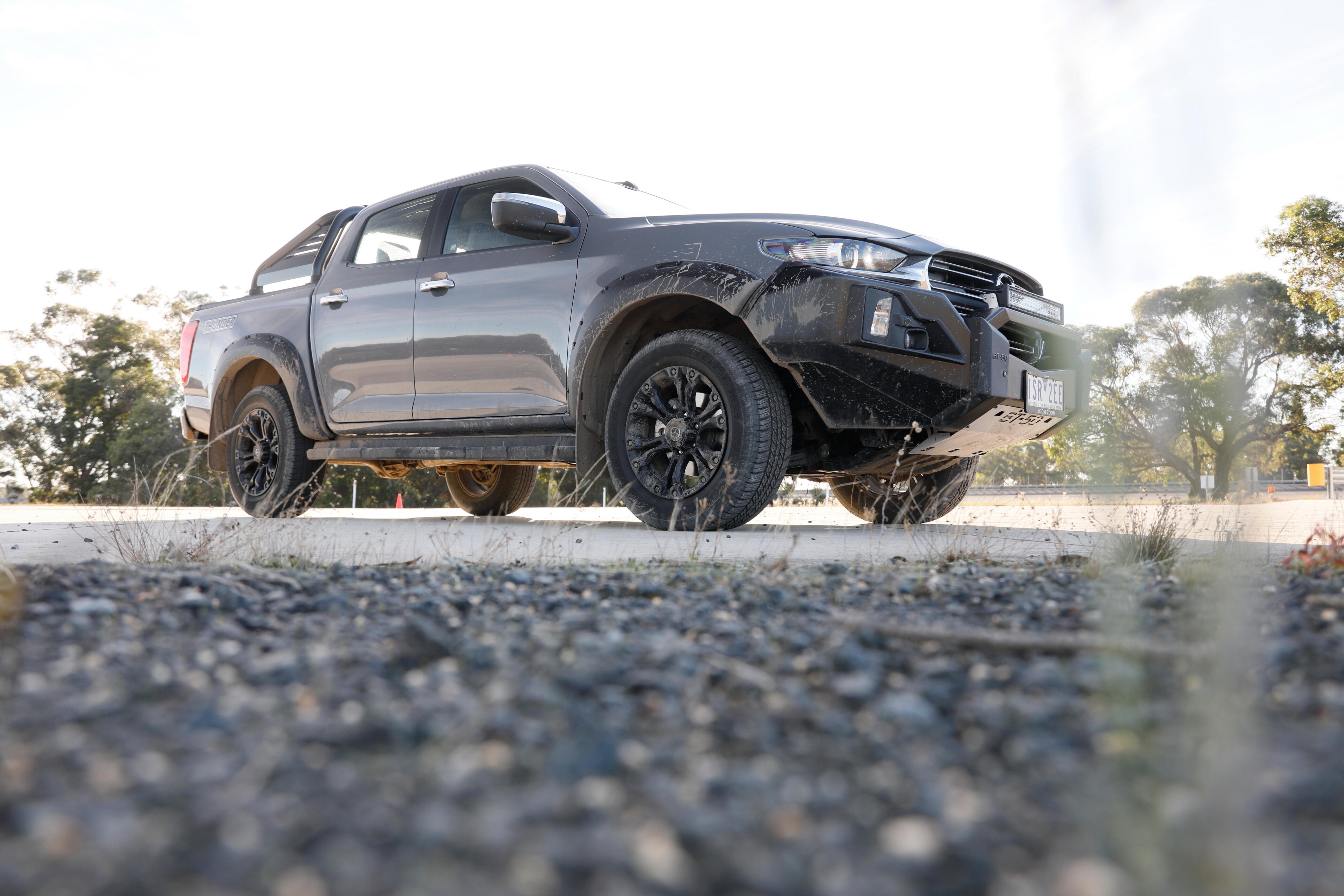 4 X 4 Australia Comparisons 2021 May 21 Mazda BT 50 Thunder Front