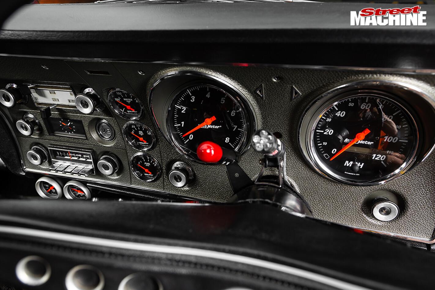 Street Machine Features Ford Falcon Dash 2