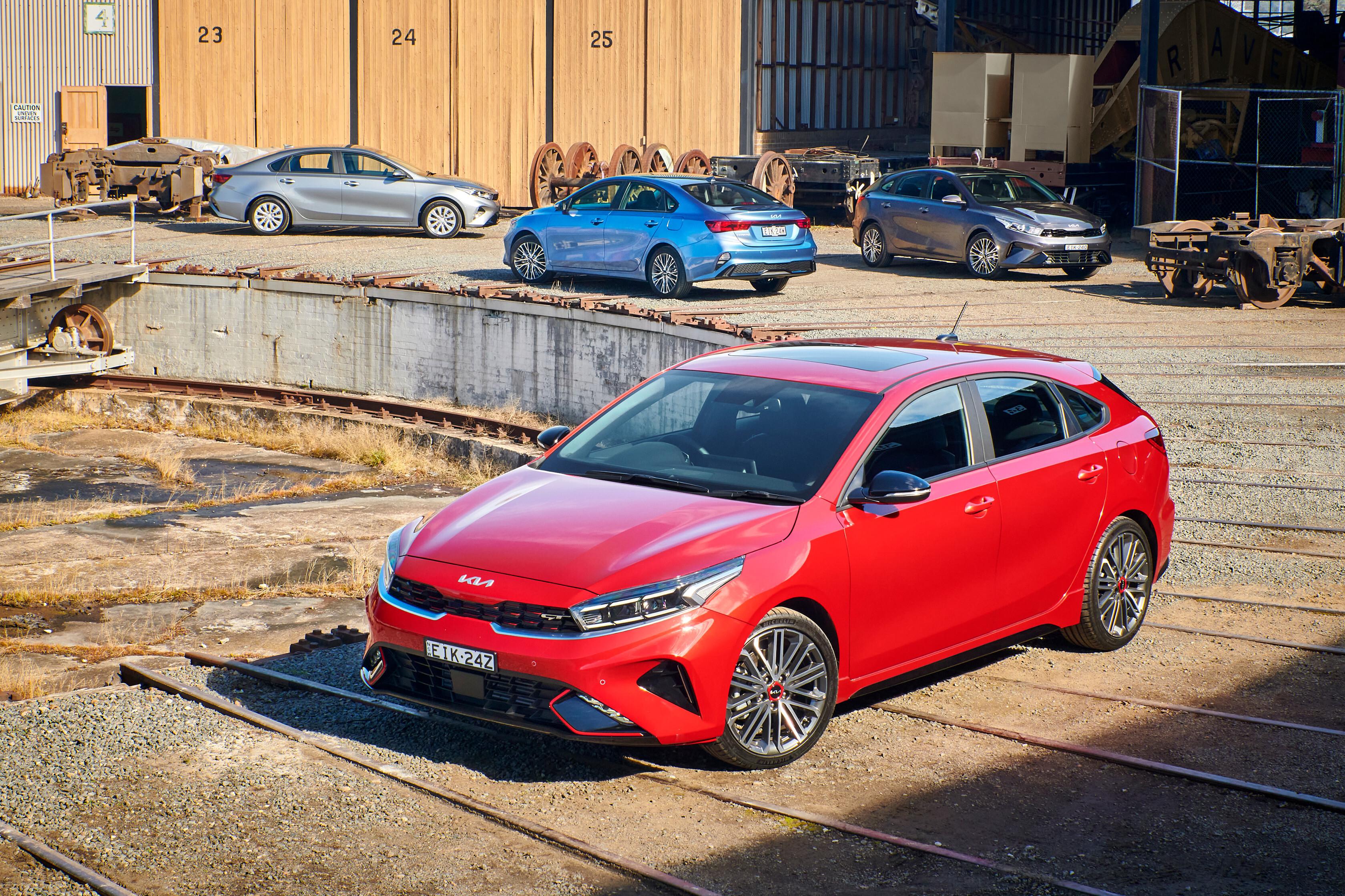 Which Car Car Reviews 2022 Kia Cerato Facelift Range