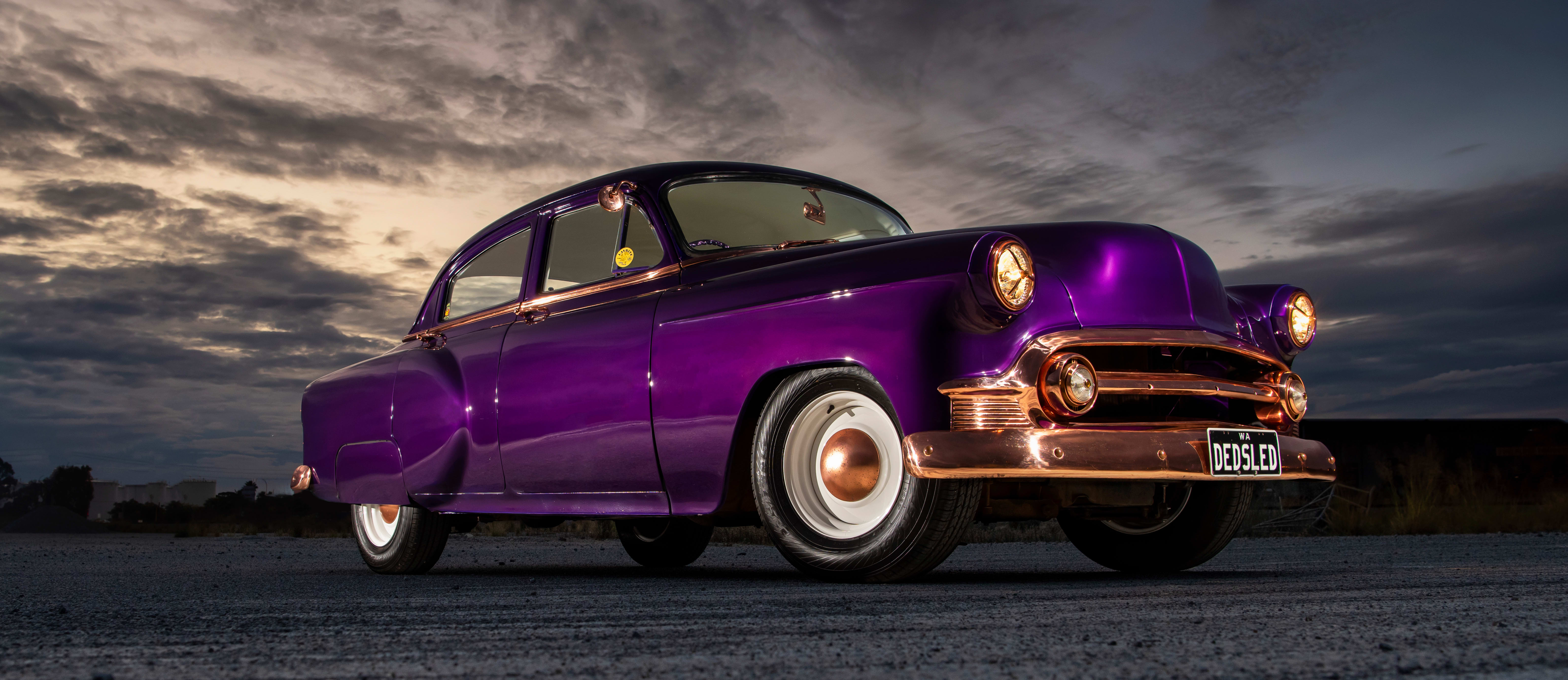 1953 Chevy sled