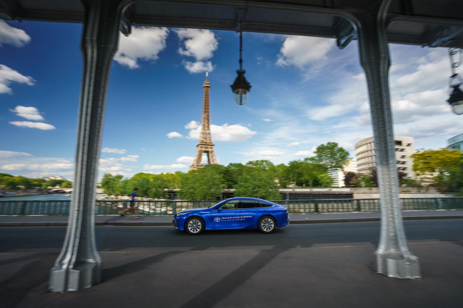Toyota Mirai Hydrogen Record 10