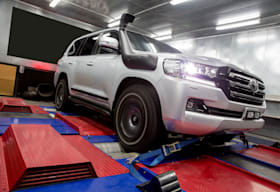 4x4 on the dyno
