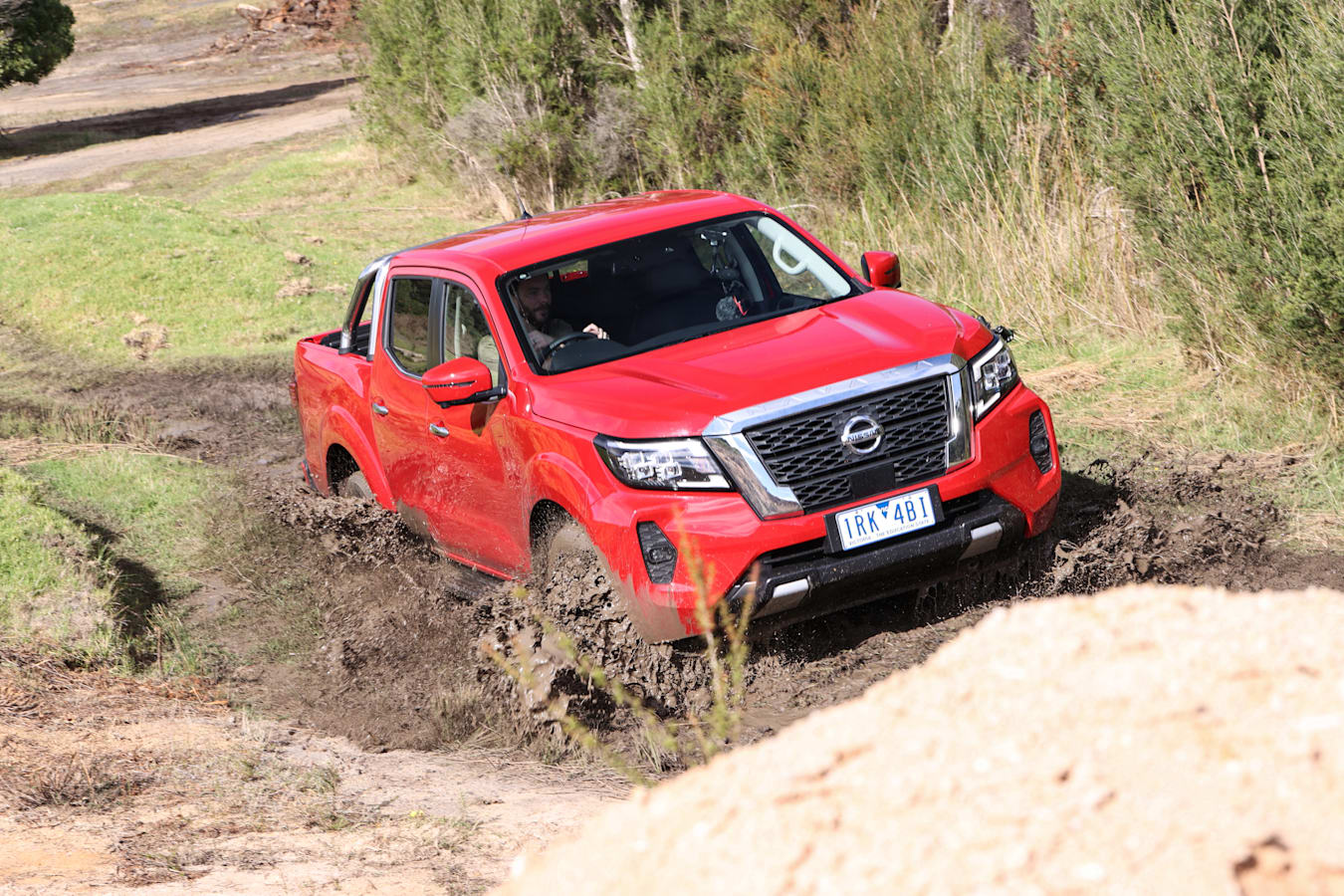 4 X 4 Australia Comparisons 2021 May 21 Nissan Navara ST X Off Road Handling