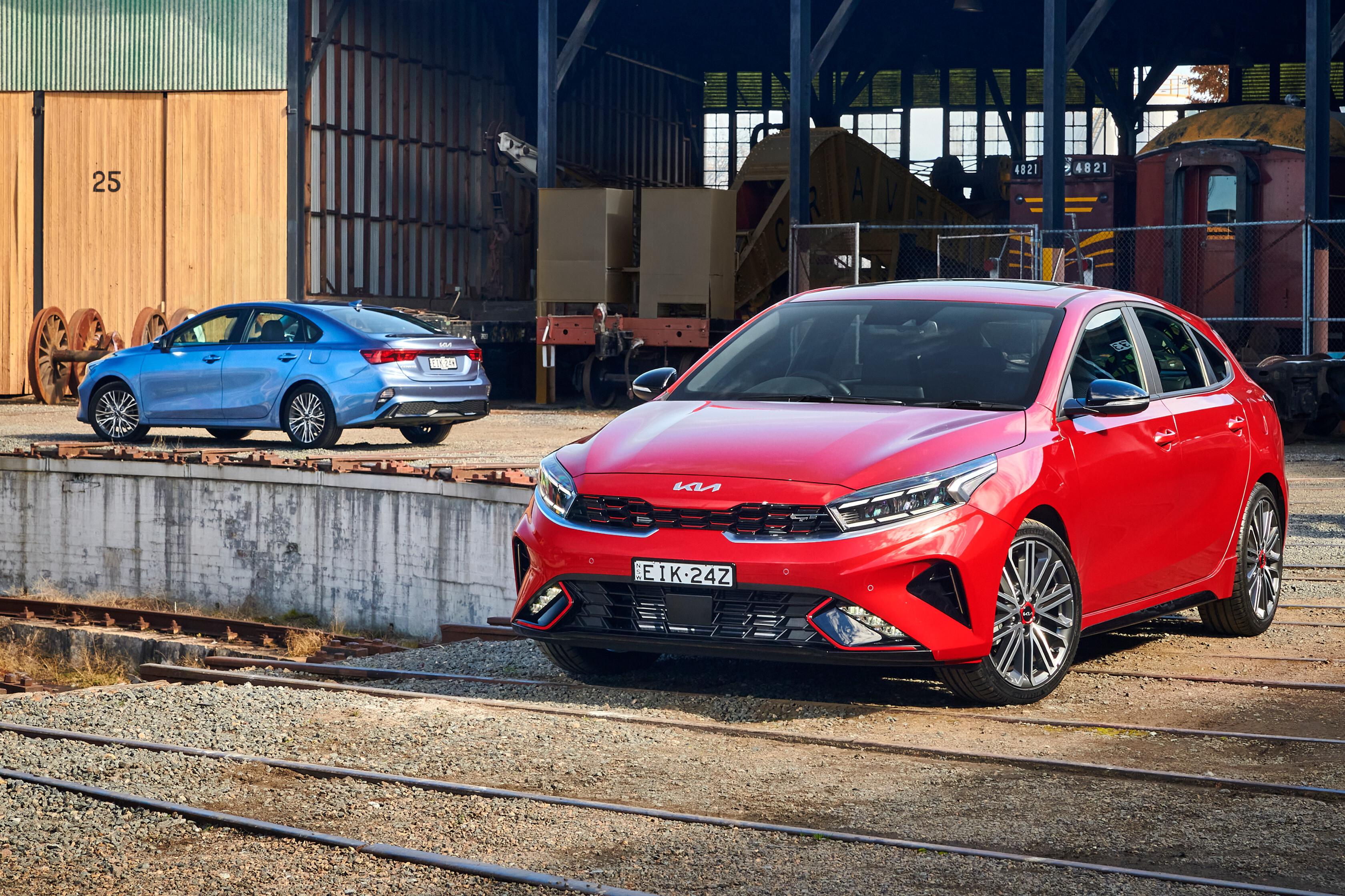 Which Car Car Reviews 2022 Kia Cerato GT Sport Plus Facelift Design