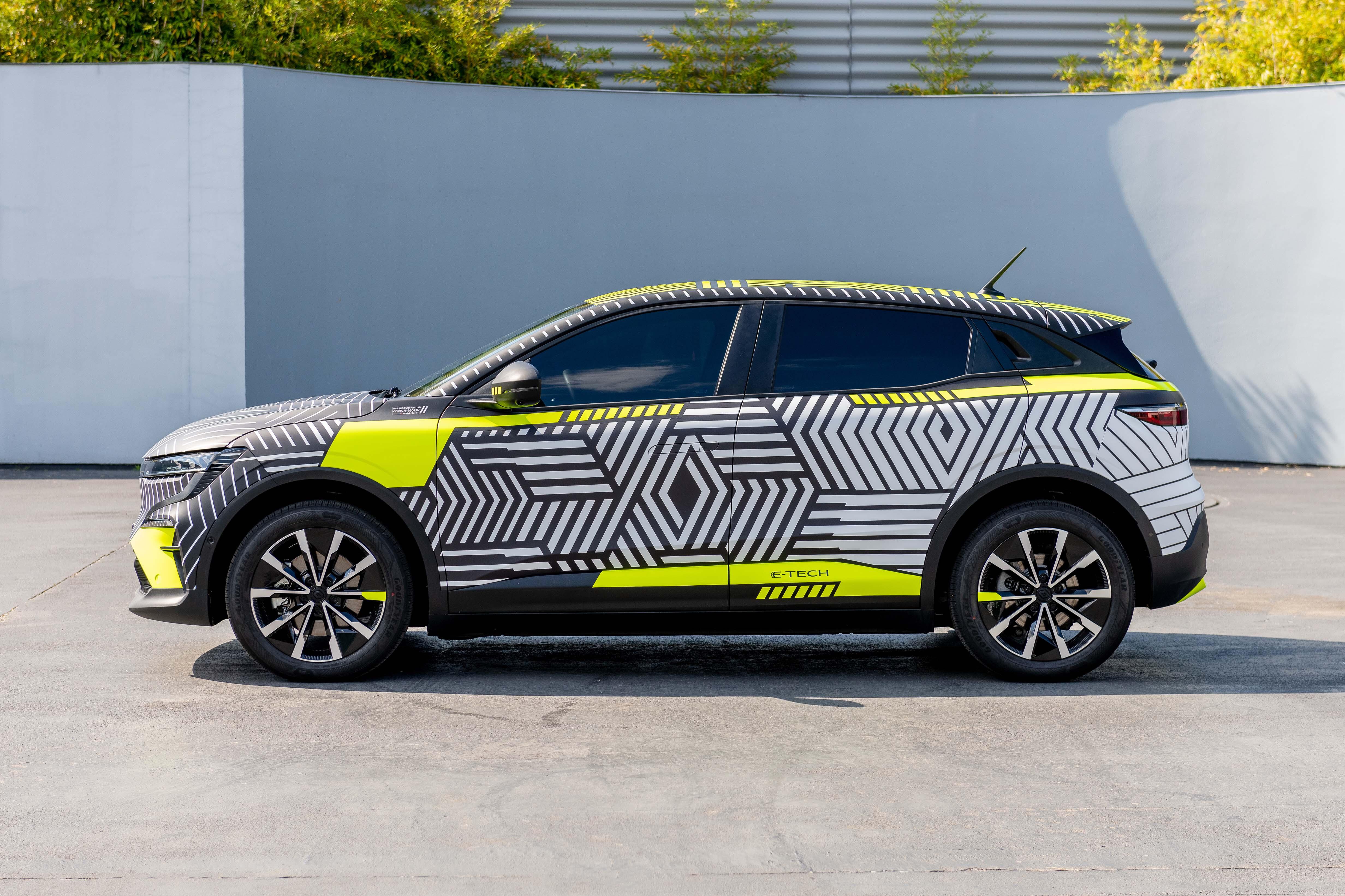 2021 New Renault MEGANE E TECH Electric Pre Production 4