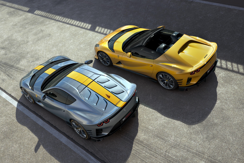 2022 Ferrari 812 Competizione and Competizione A