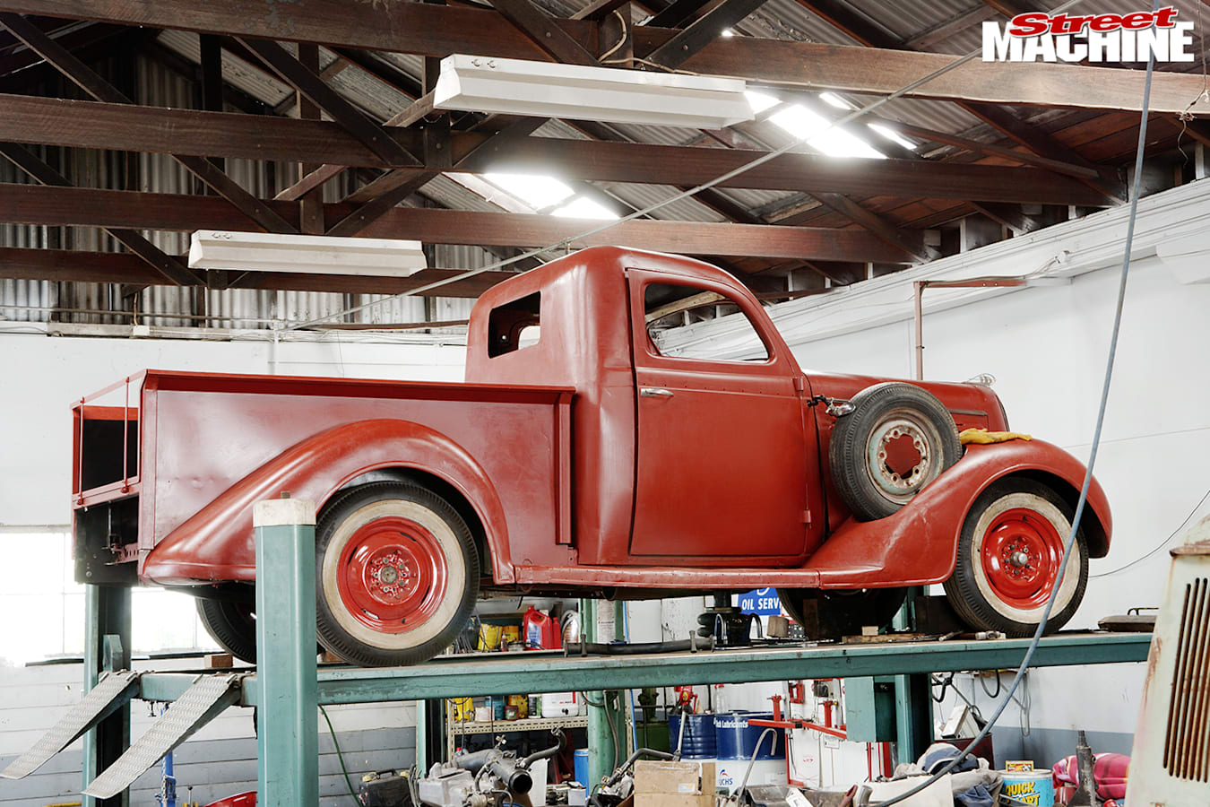 Street Machine Features Townsend Family Truck
