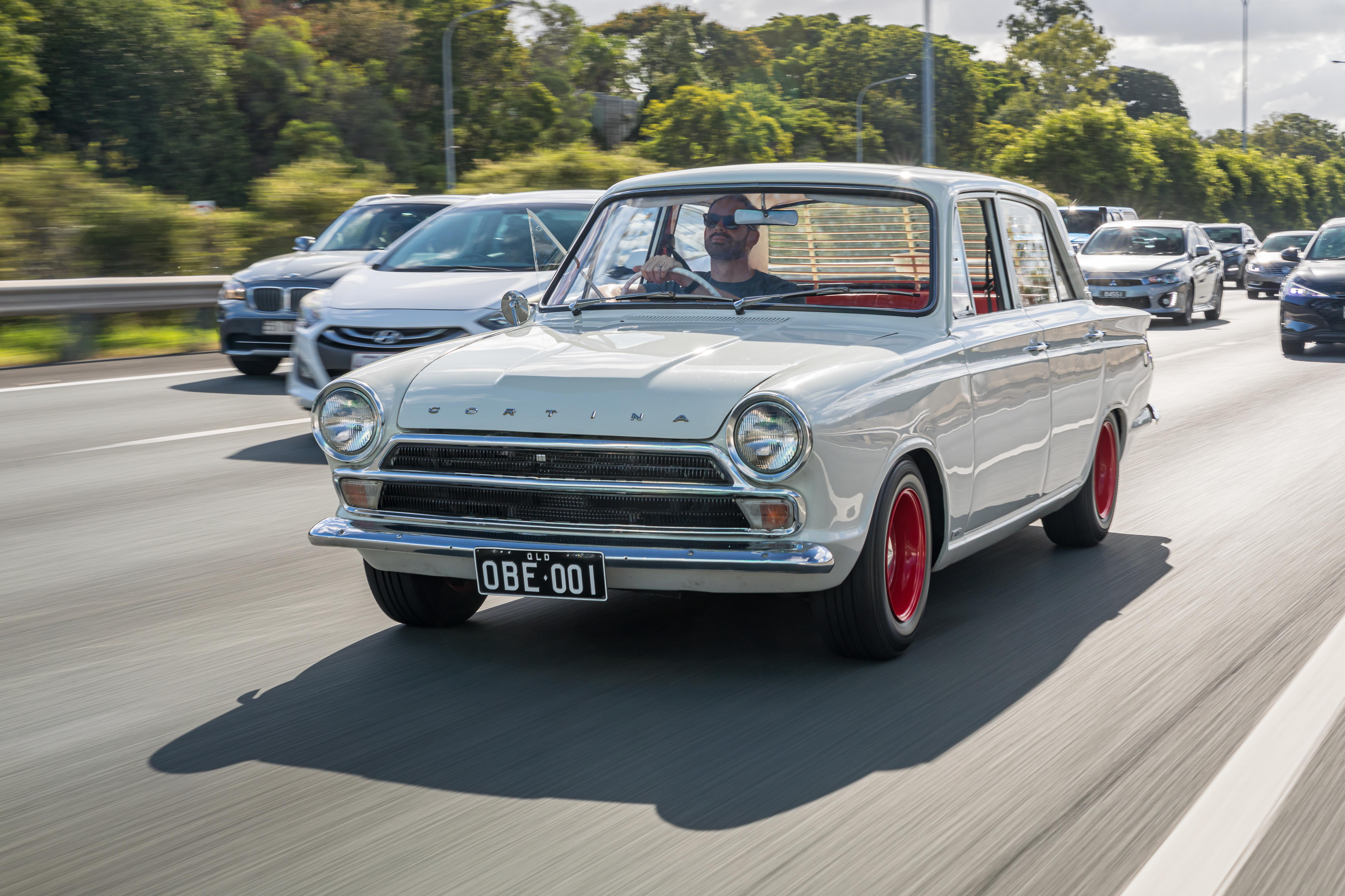 electric powered Cortina