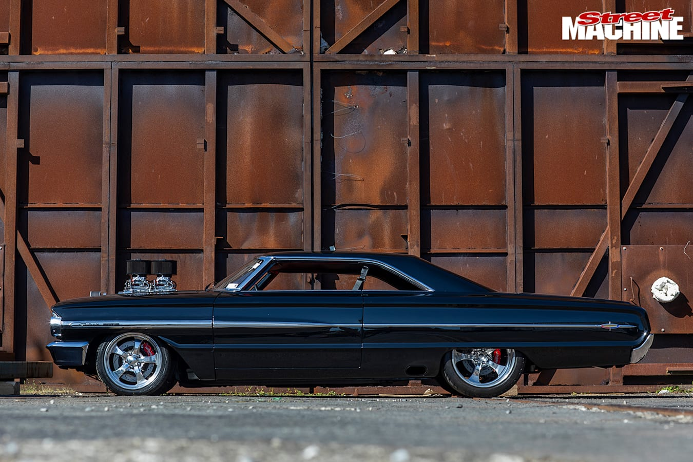 Street Machine Features Ford Galaxie Side