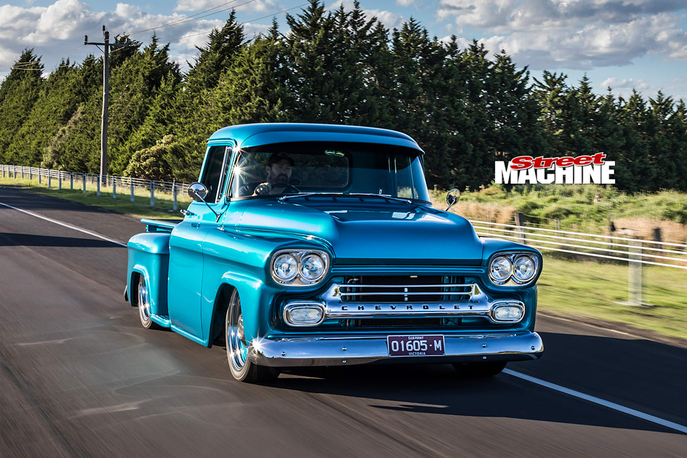 Street Machine Features Chevrolet Apache Onroad Front