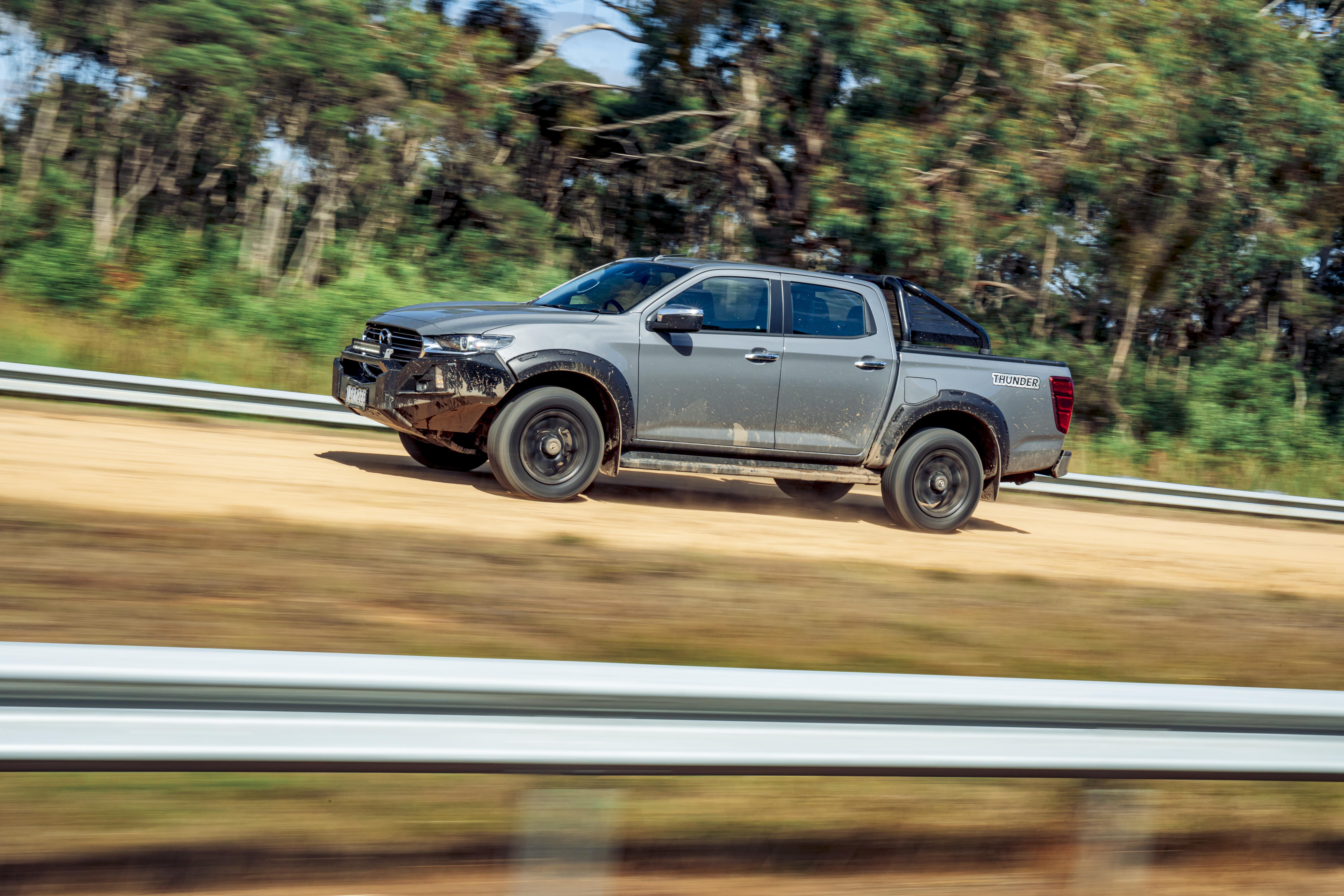4 X 4 Australia Comparisons 2021 May 21 Mazda BT 50 Thunder Off Road Ride Drive
