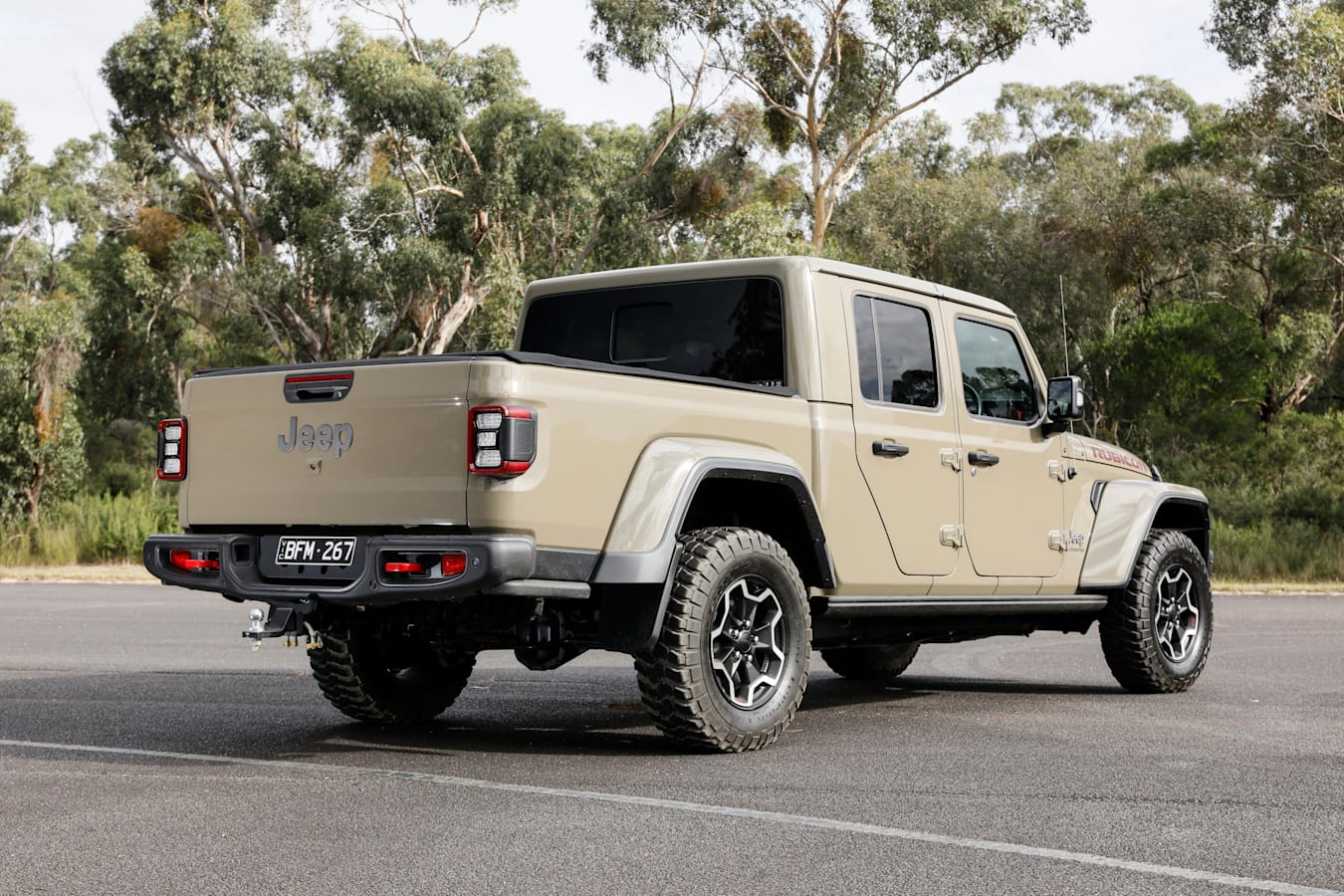4 X 4 Australia Comparisons 2021 May 21 Jeep Gladiator Rear