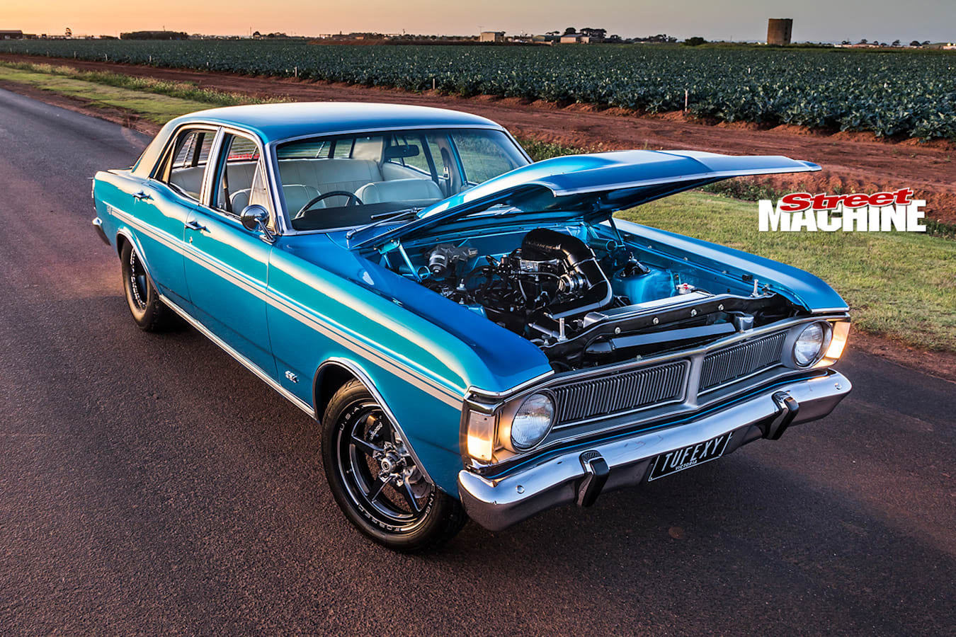Street Machine Features Ford Falcon Xy Onroad Bonnet Up
