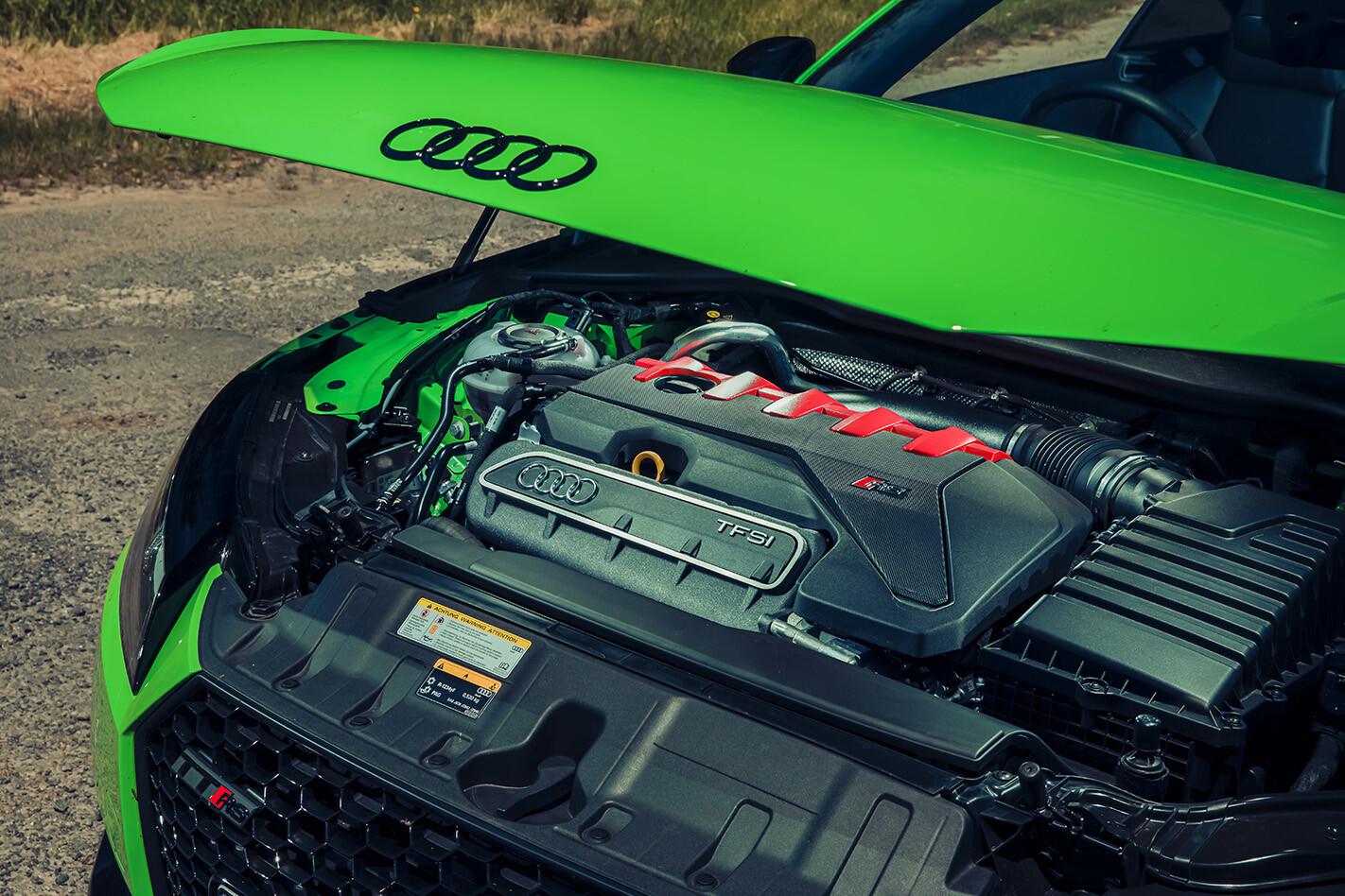 Audi TT RS engine
