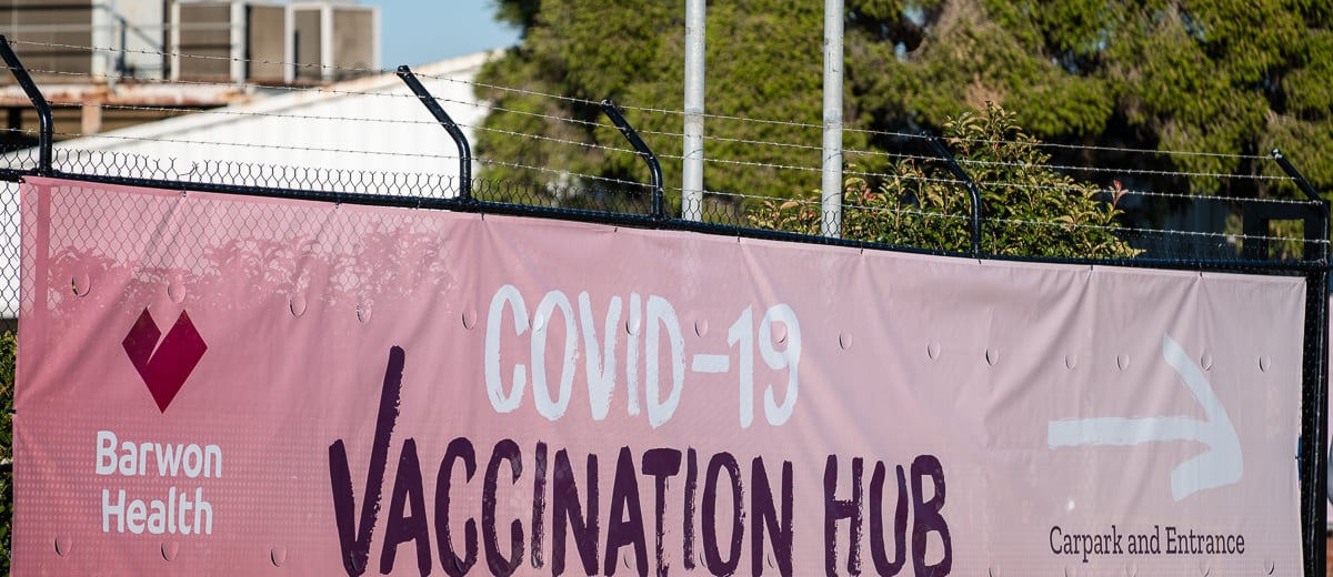 Ford factory vaccine hub