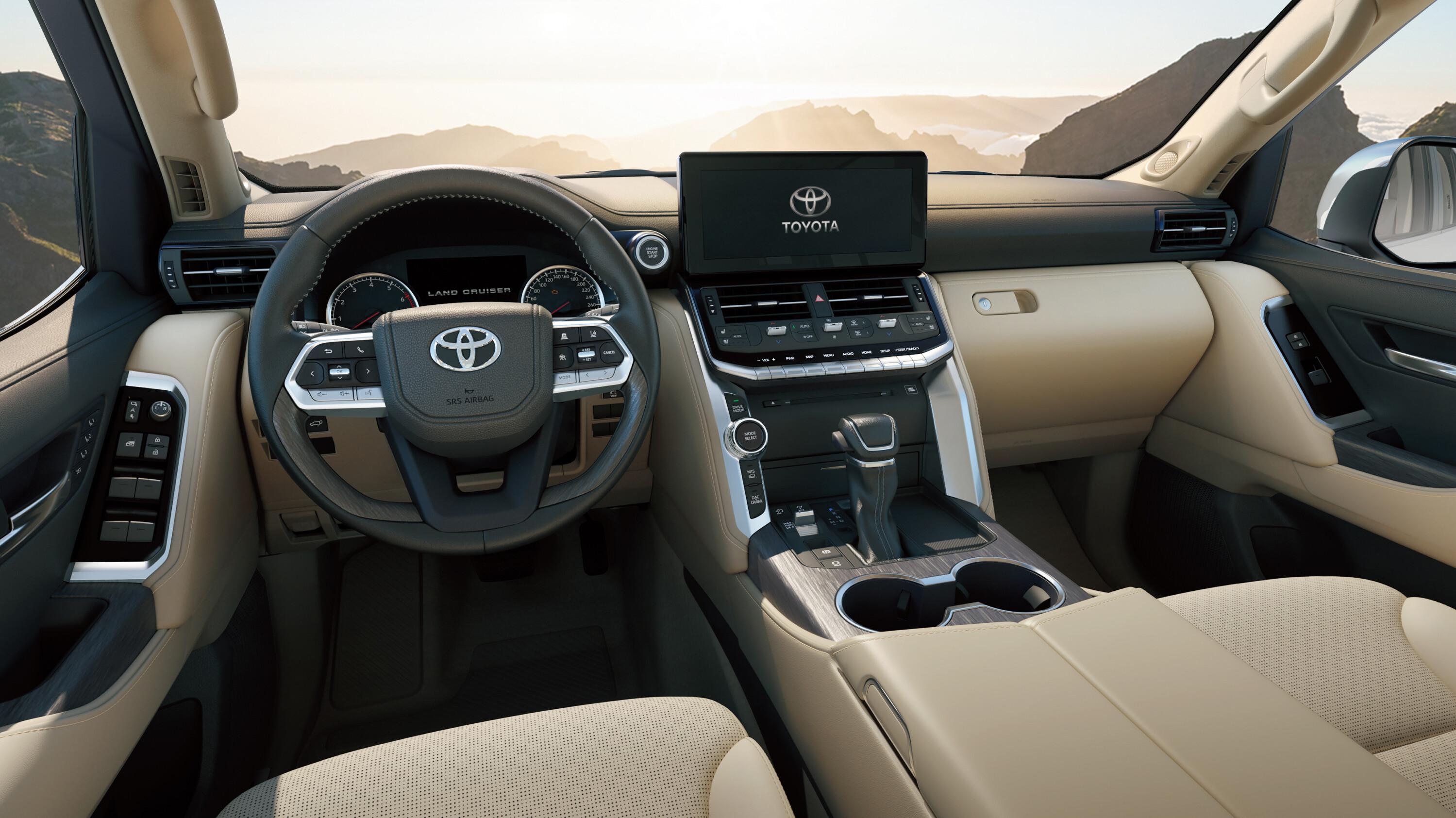 News 2022 Toyota Land Cruiser 300 Series Interior