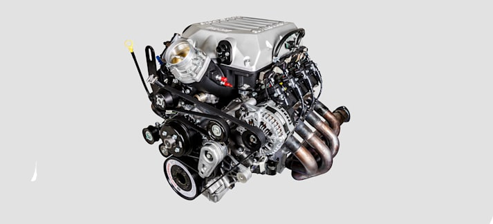 Harrop blown Godzilla 7.3L V8