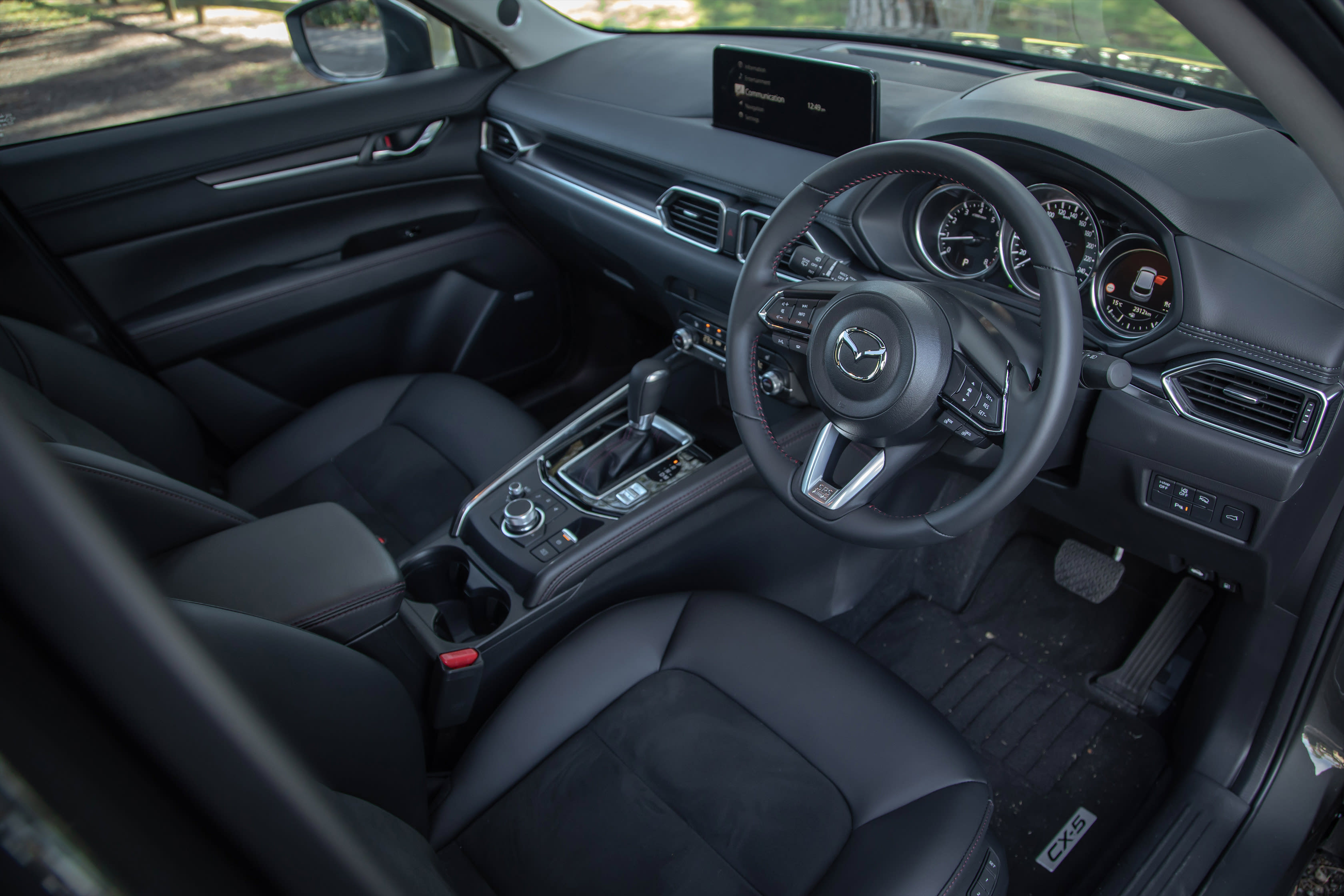 Which Car Car Reviews 2021 Mazda CX 5 GT SP Turbo Cabin