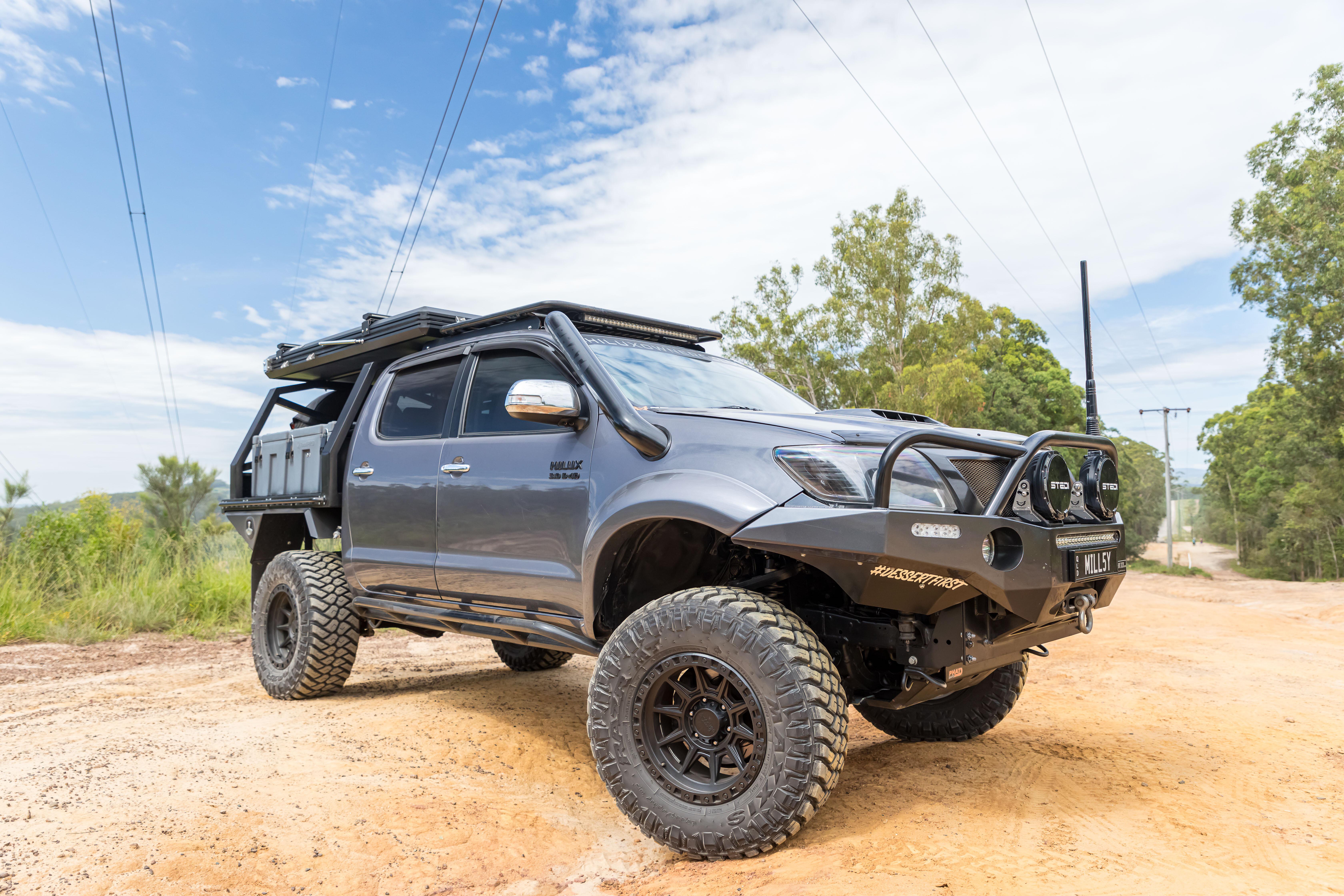 4 X 4 Australia Miscellaneous Custom Toyota Hilux N 70