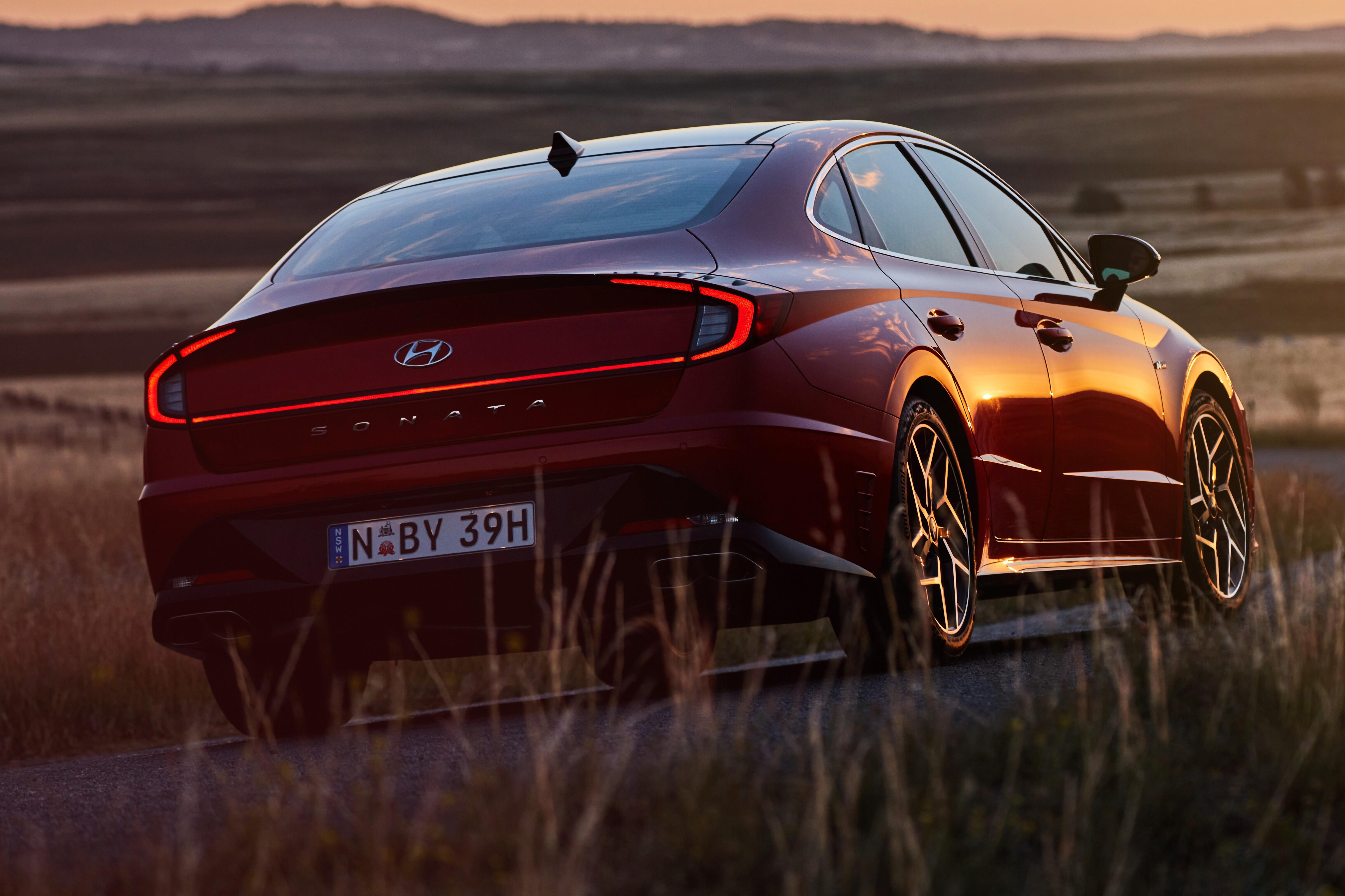 Wheels Reviews 2021 Hyundai Sonata N Line Review Australia 42 A