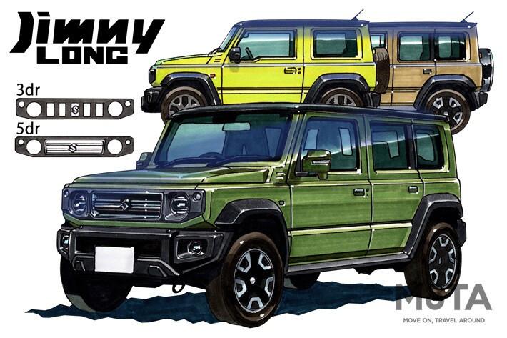 MOTA Suzuki Jimny Long
