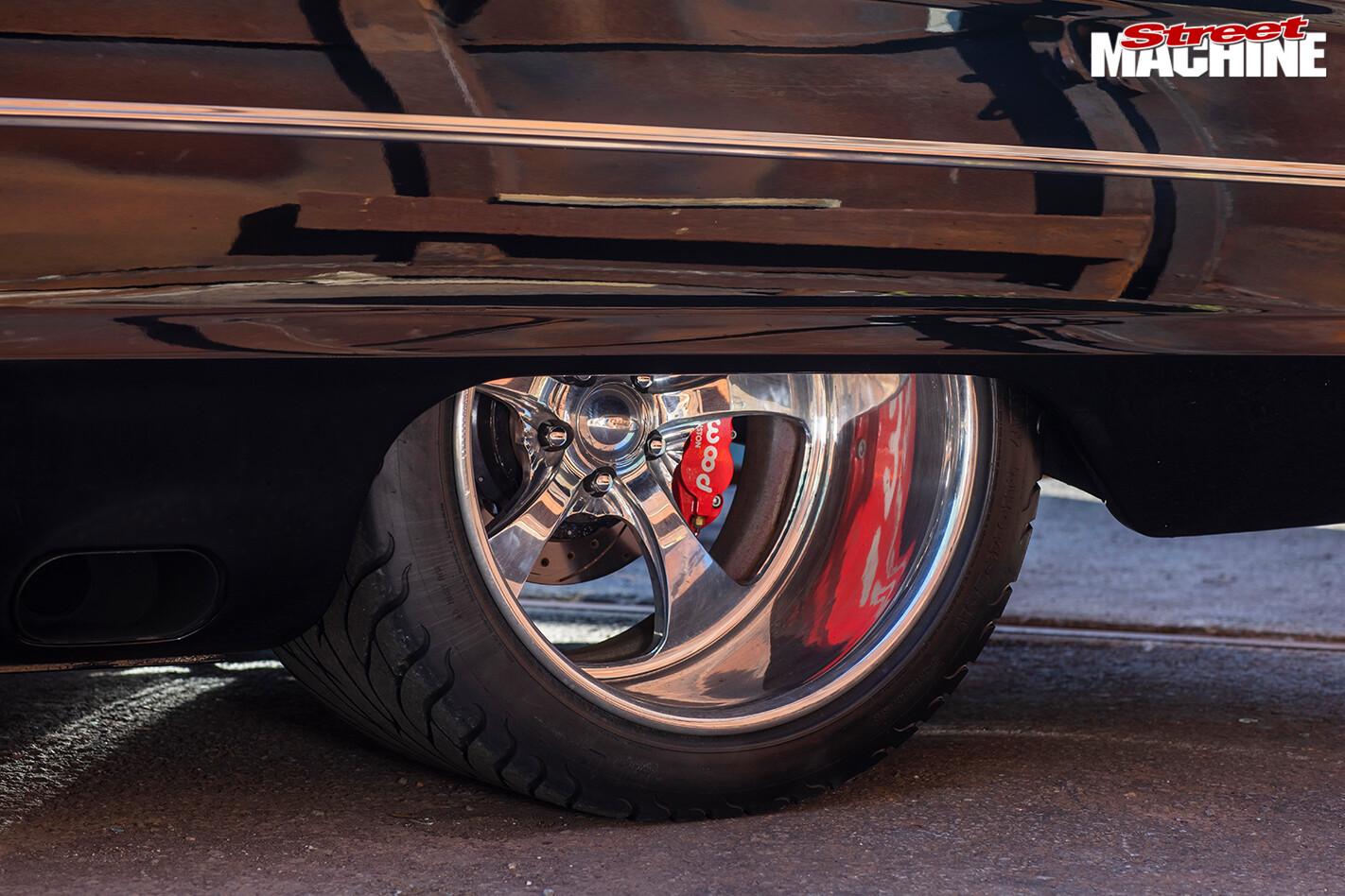 Street Machine Features Ford Galaxie Rear Wheel