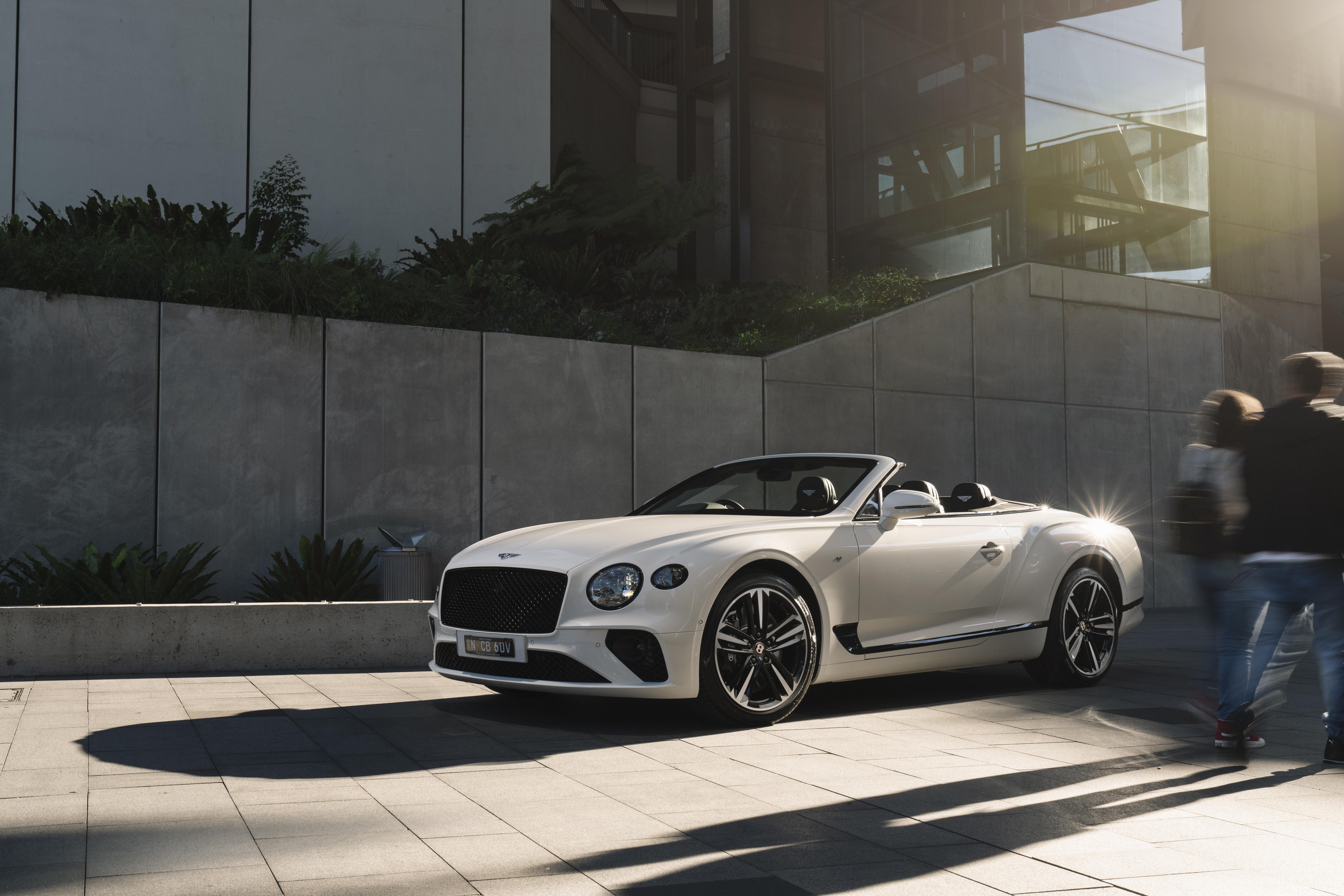 Bentley Continental GTC V8 review
