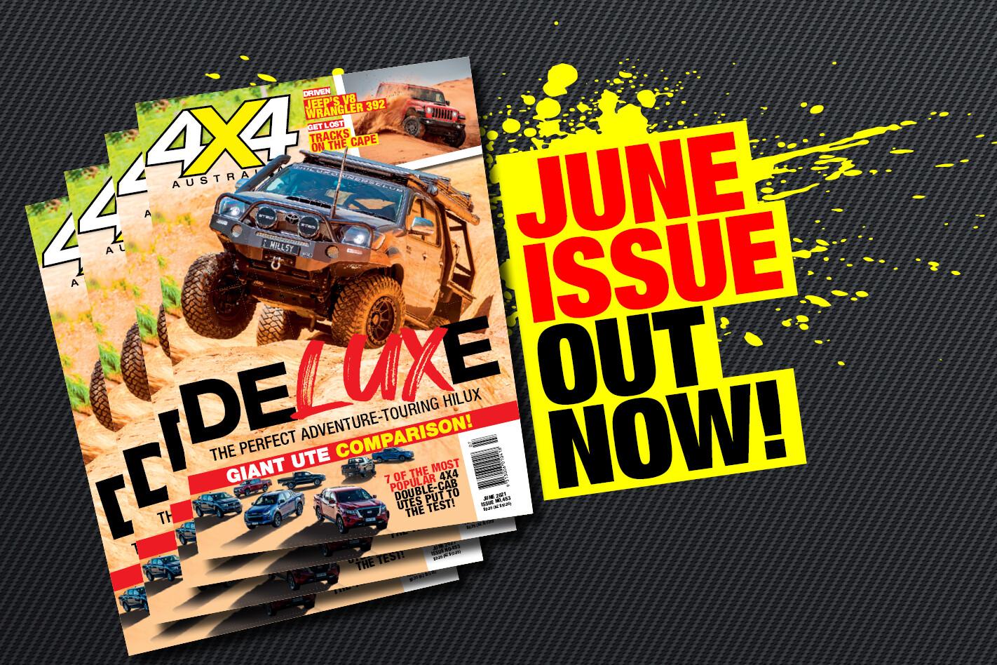 4X4 Australia: June 2021 out now