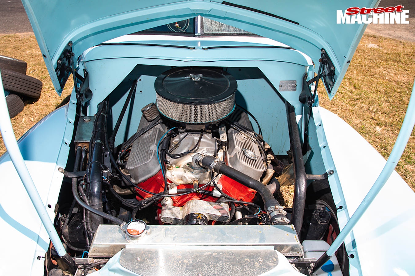 Street Machine Events Holden Fx Ute Northern Nats Engine Bay