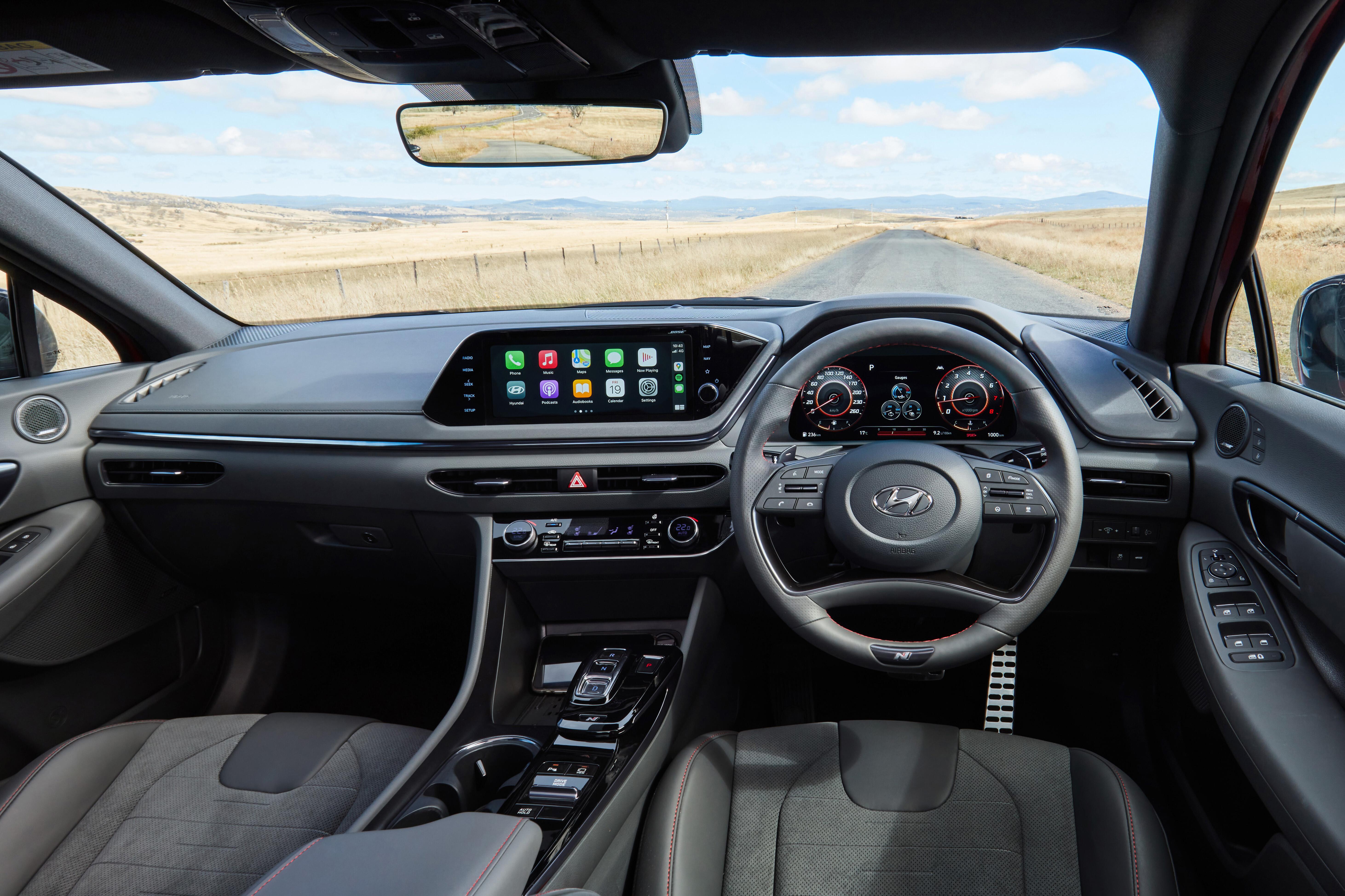 Wheels Reviews 2021 Hyundai Sonata N Line Review Australia 85