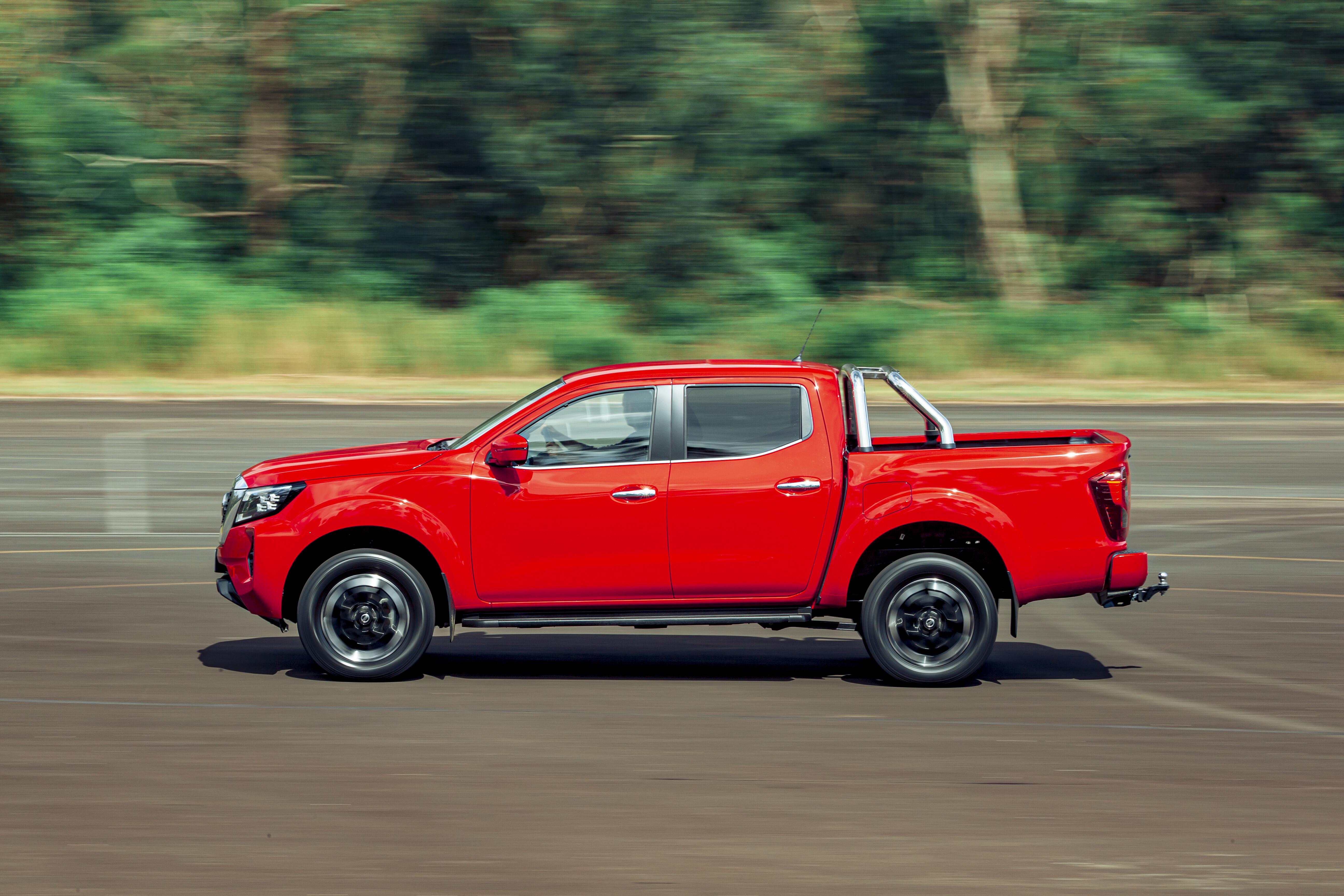 4 X 4 Australia Comparisons 2021 May 21 Nissan Navara ST X Performance Acceleration Test