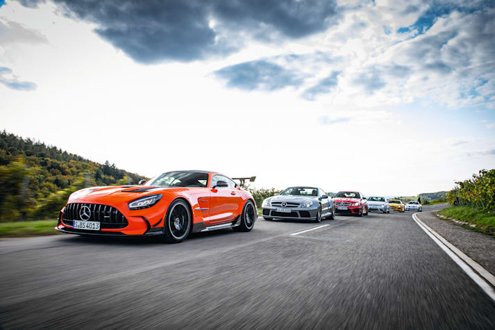 AMG Black series generations