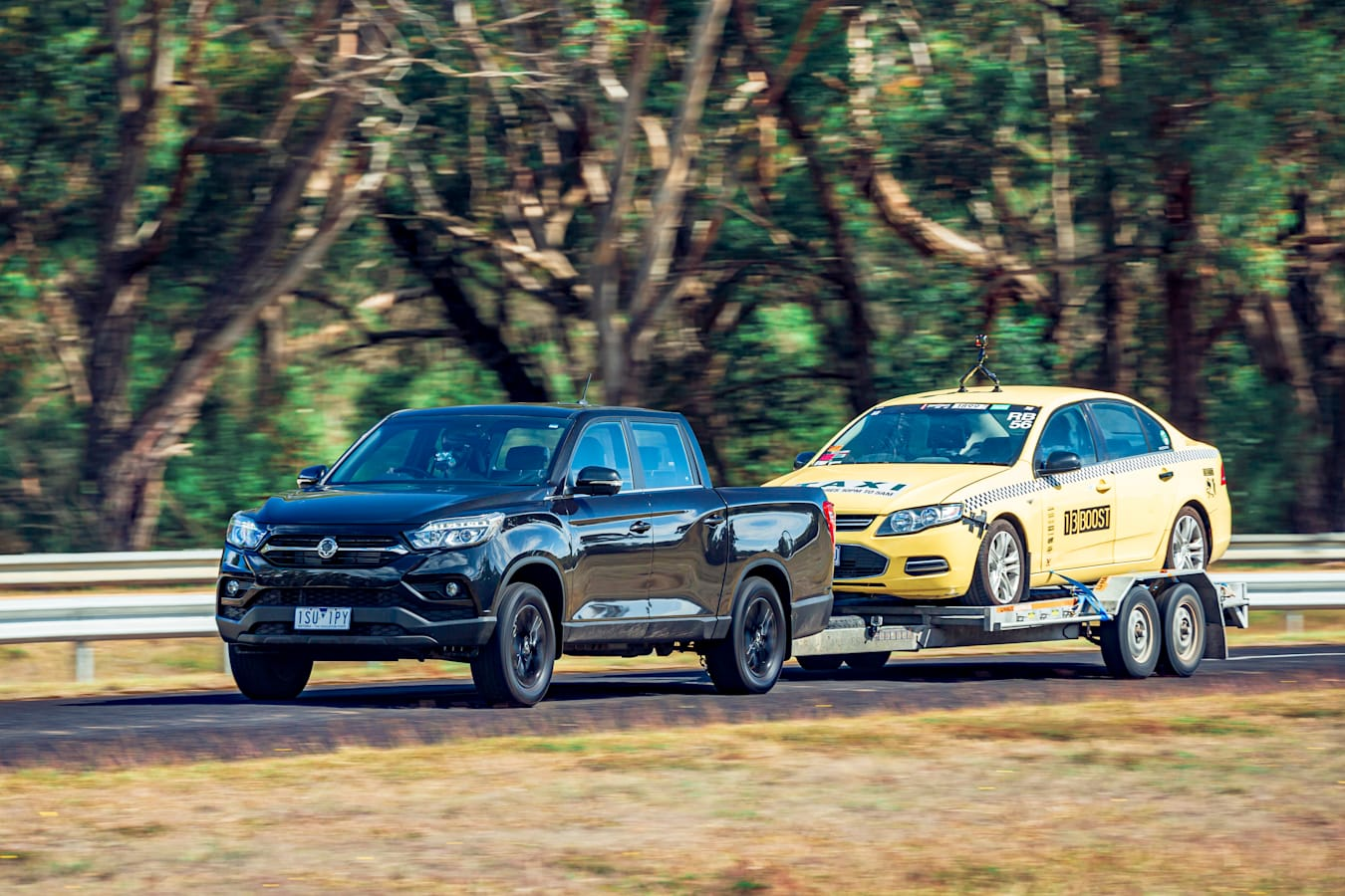 4 X 4 Australia Comparisons 2021 May 21 Ssang Yong Musso Unlimited XLV Towing