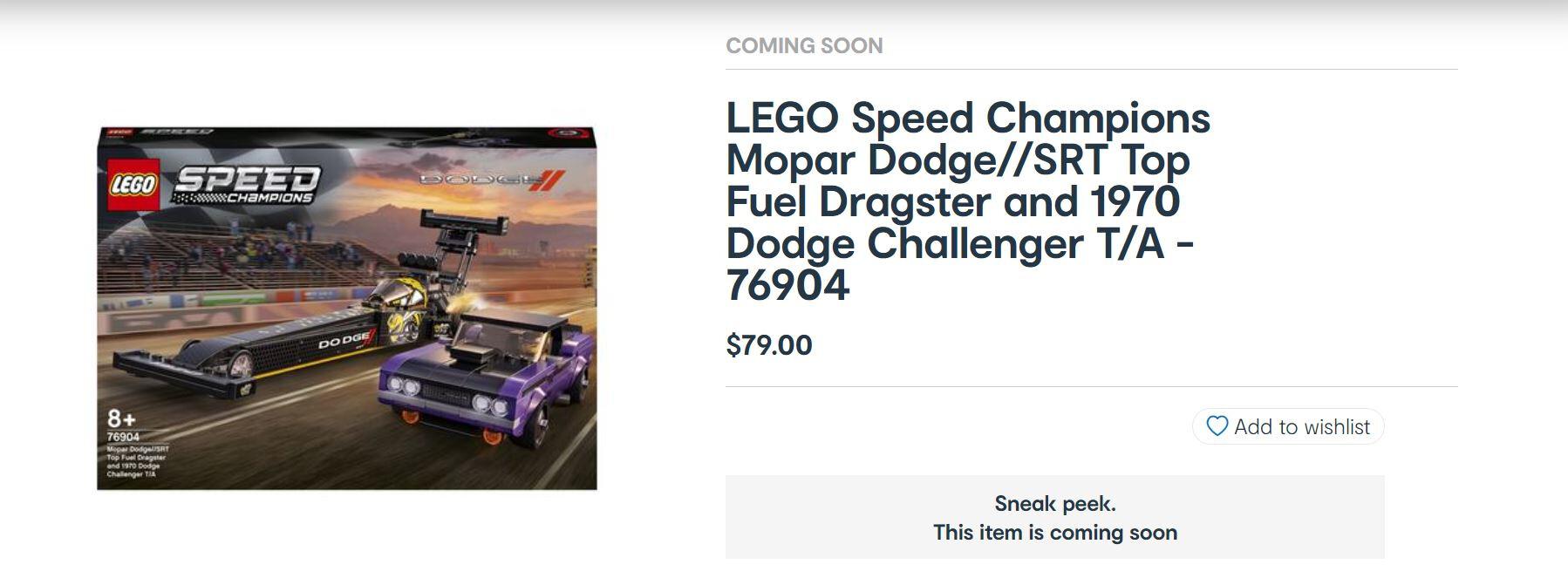 Street Machine News Lego Dodge