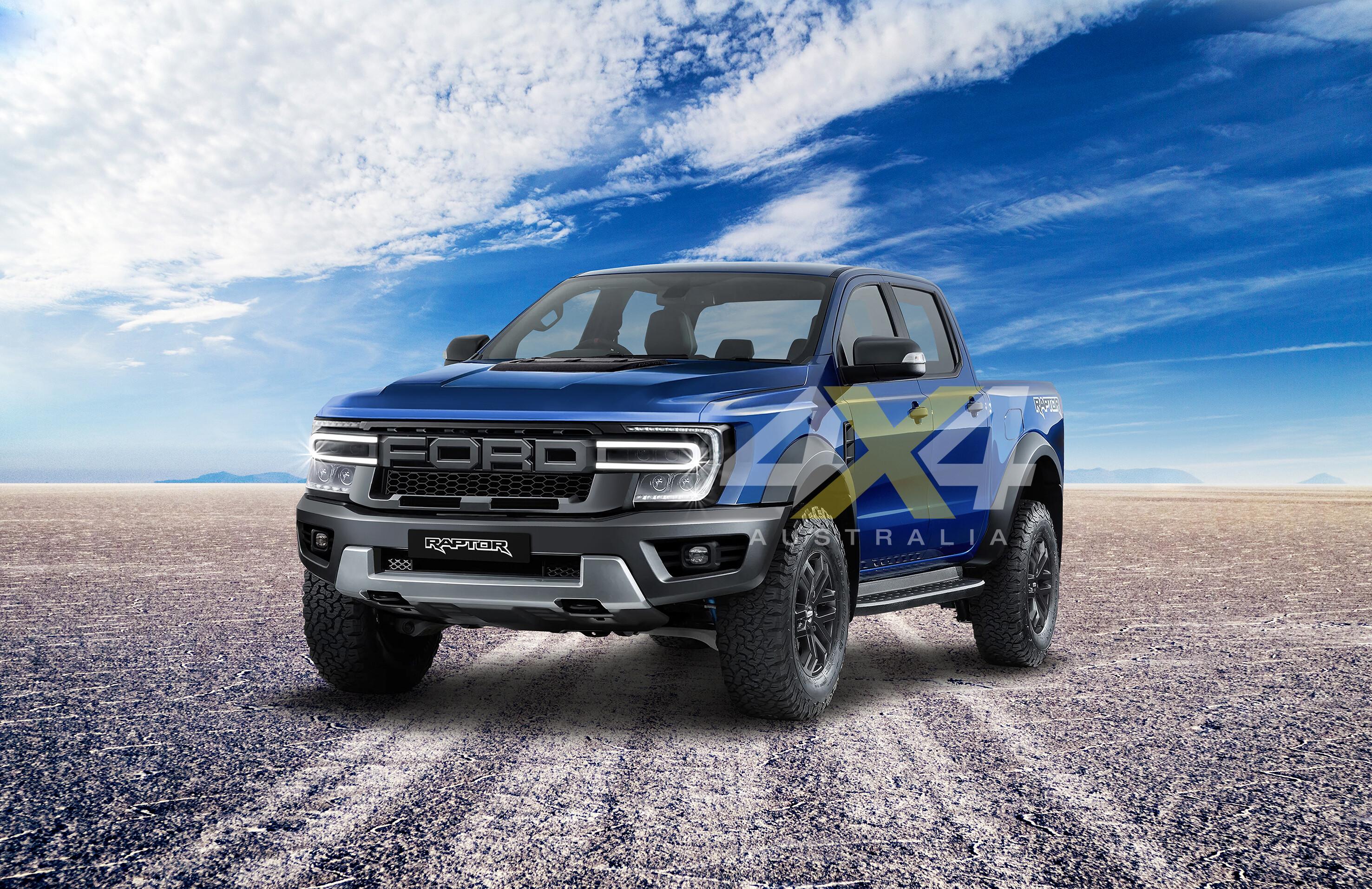 2022 Ford Ranger Raptor com-gen